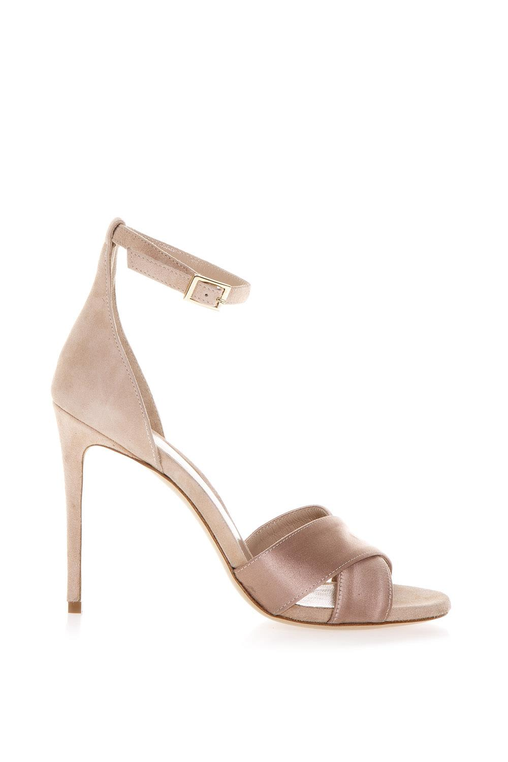 Powder Kira Sandals In Leather