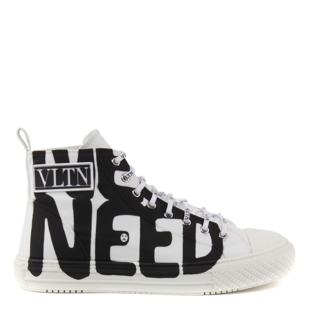 Valentino Garavani Valentino Garavani Lovers Language Giggies High-top Sneakers