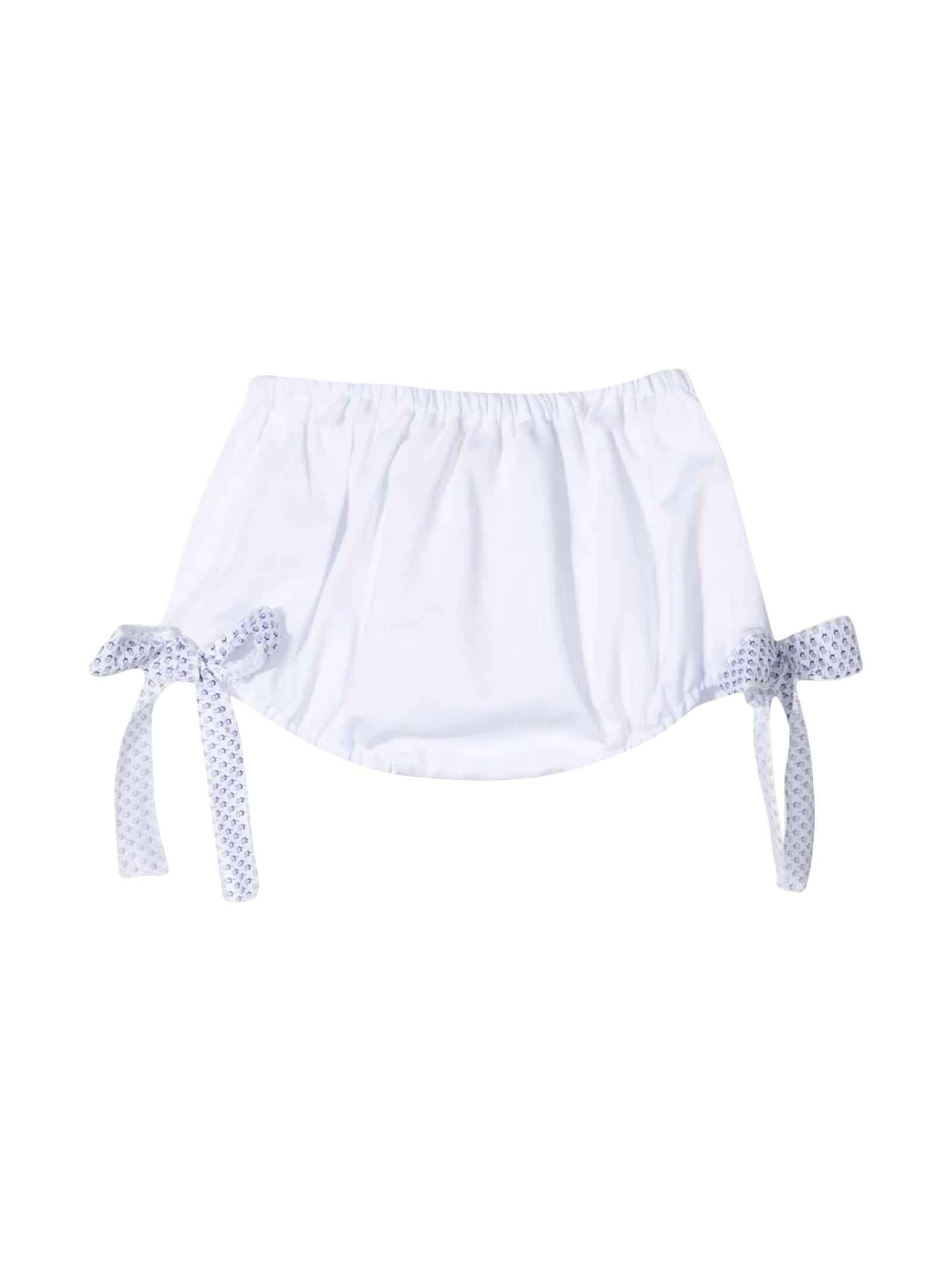 White Shorts Kids