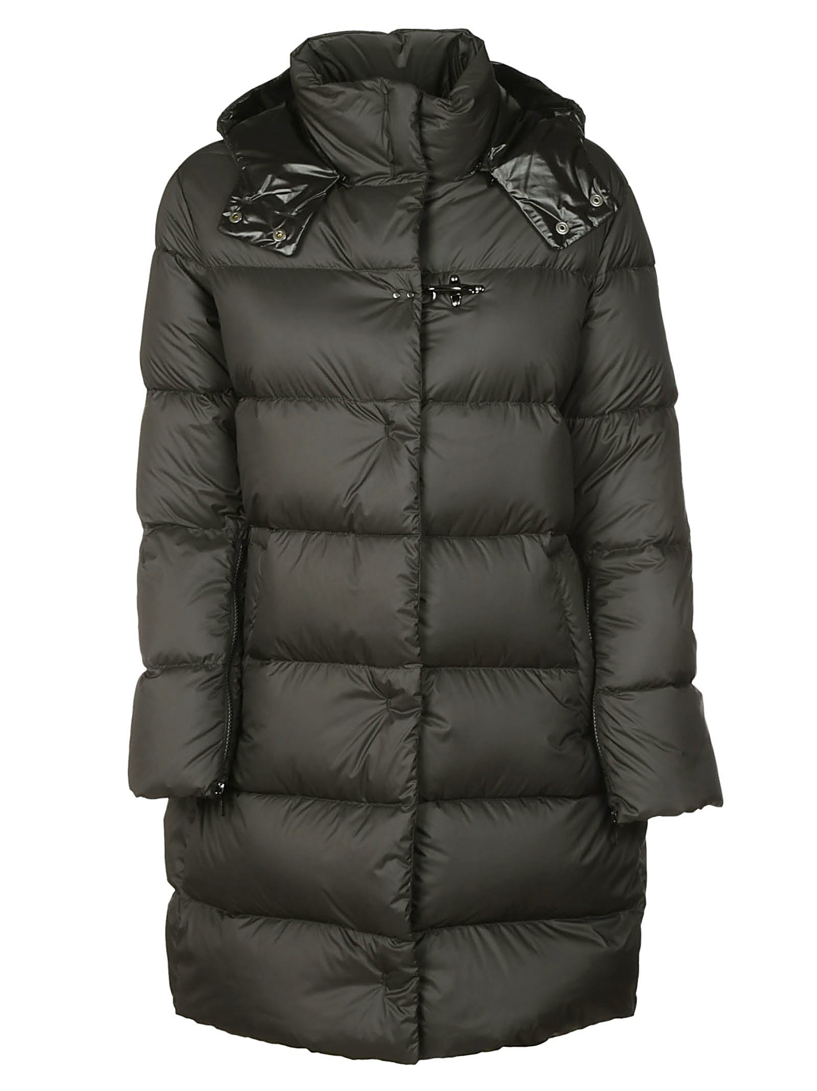 Fay Funnel Neck Padded Coat