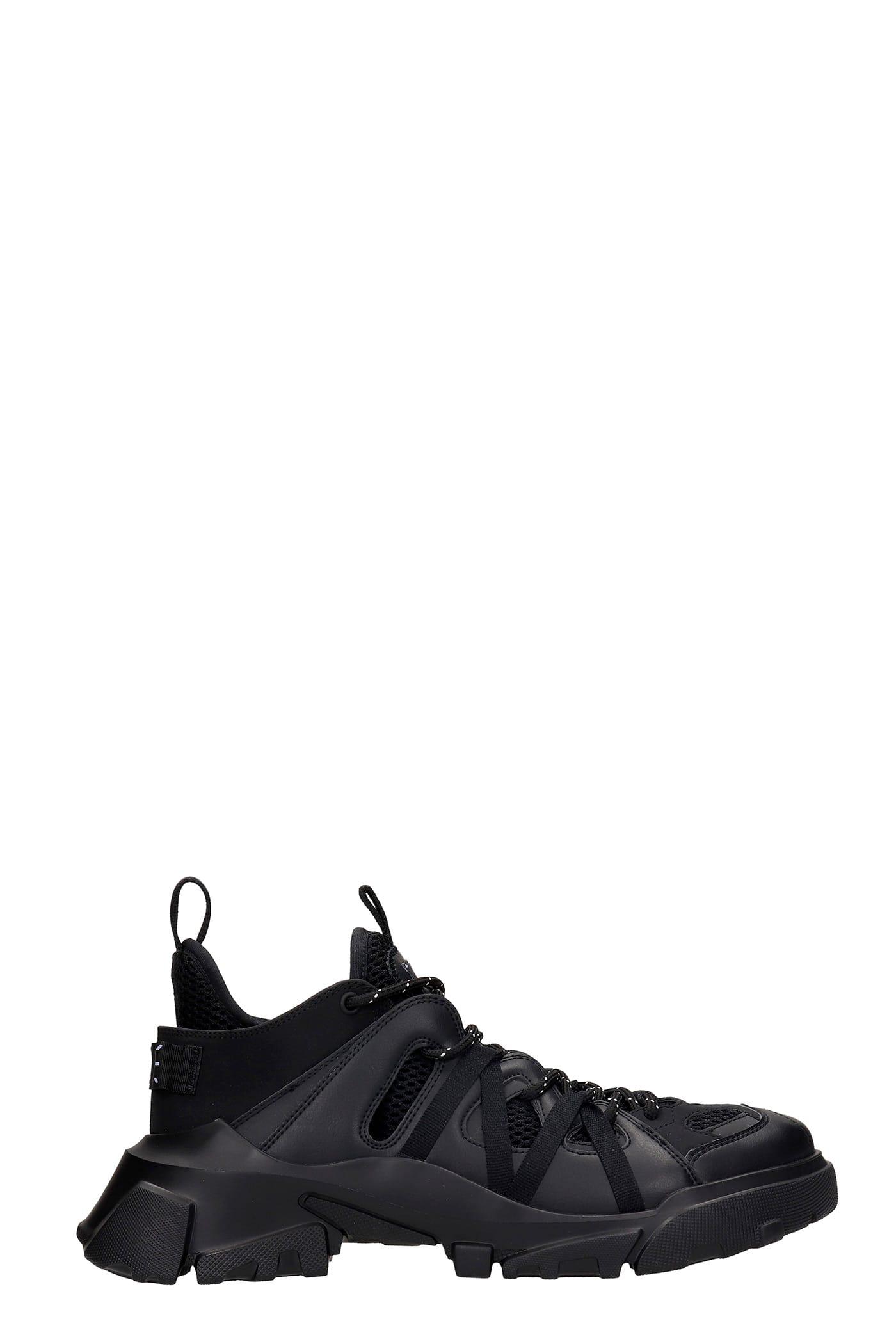 Orby T 2.0 Sneakers In Black Synthetic Fibers