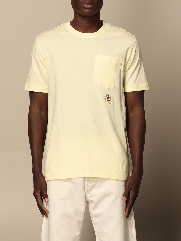 Hilfiger Collection T-shirt Hilfiger Collection Cotton T-shirt With Emblem