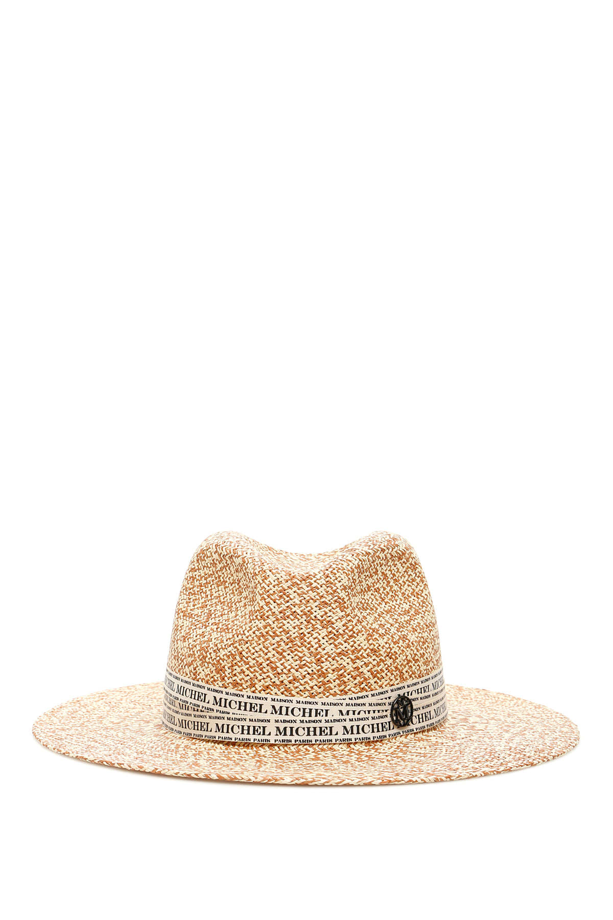 Maison Michel Hats HENRIETTA TWO-TONE STRAW HAT