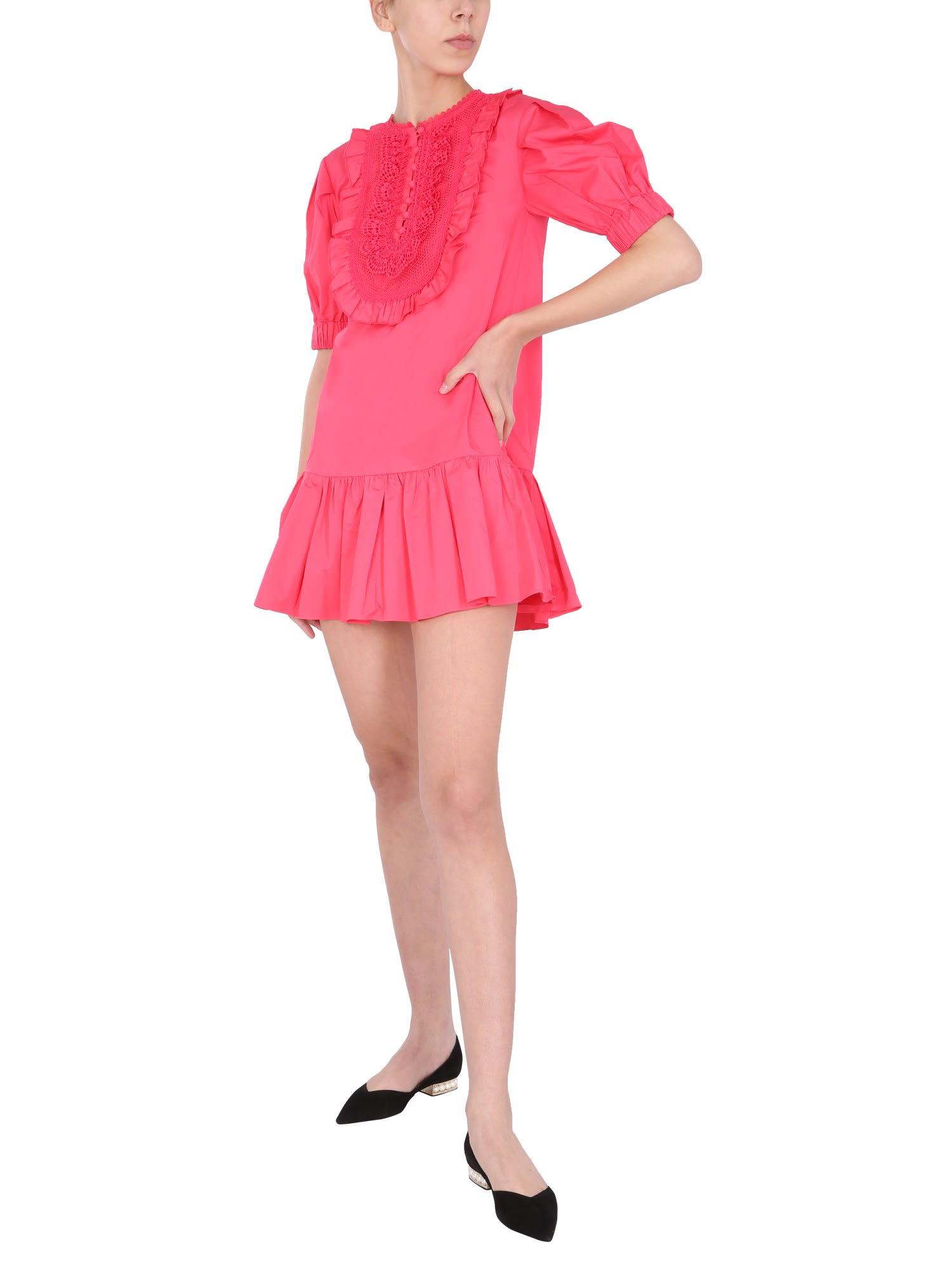 Self-Portrait Cottons SHORT DRESS