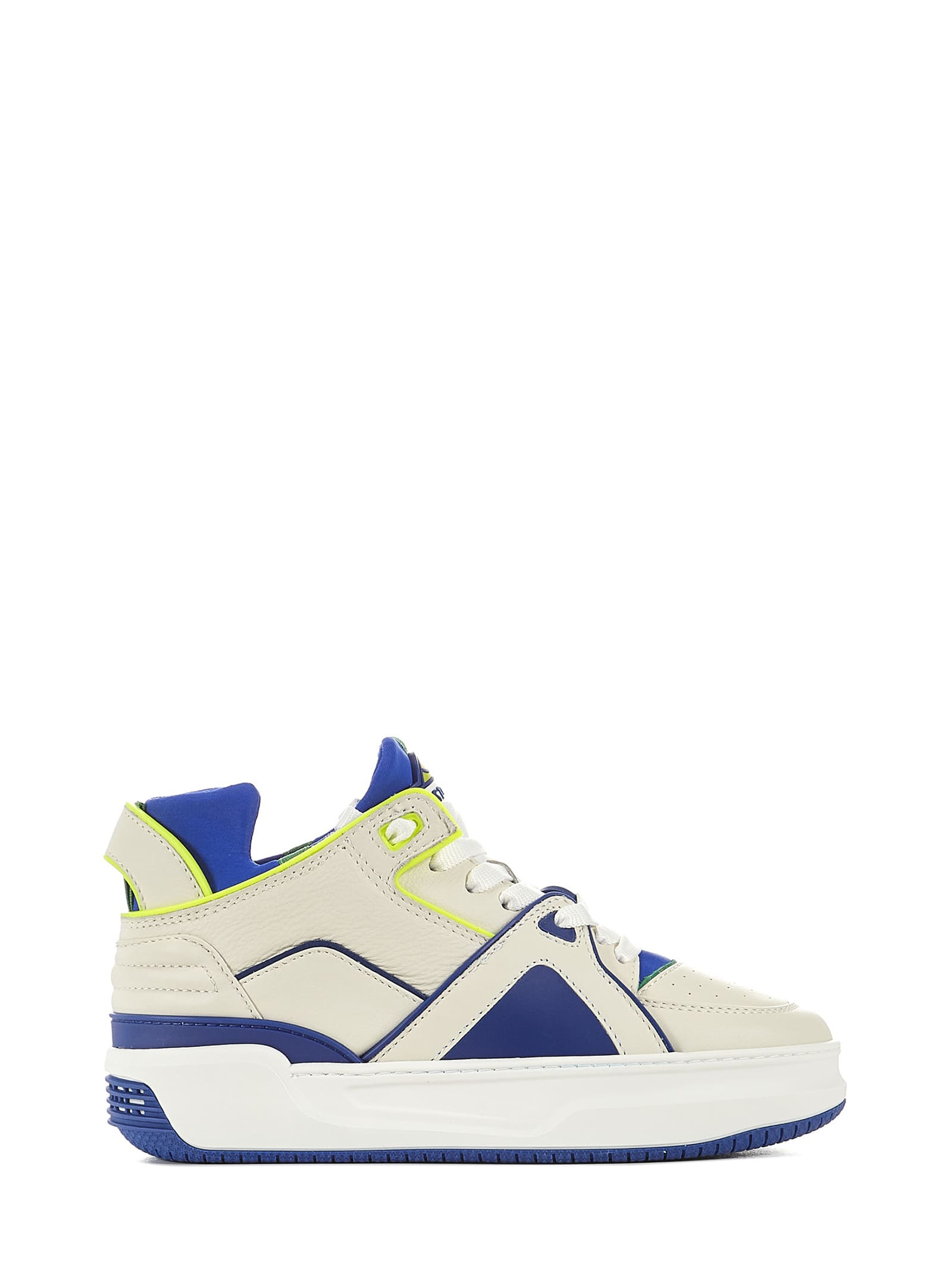 Courtside Tennis Mid Sneakers