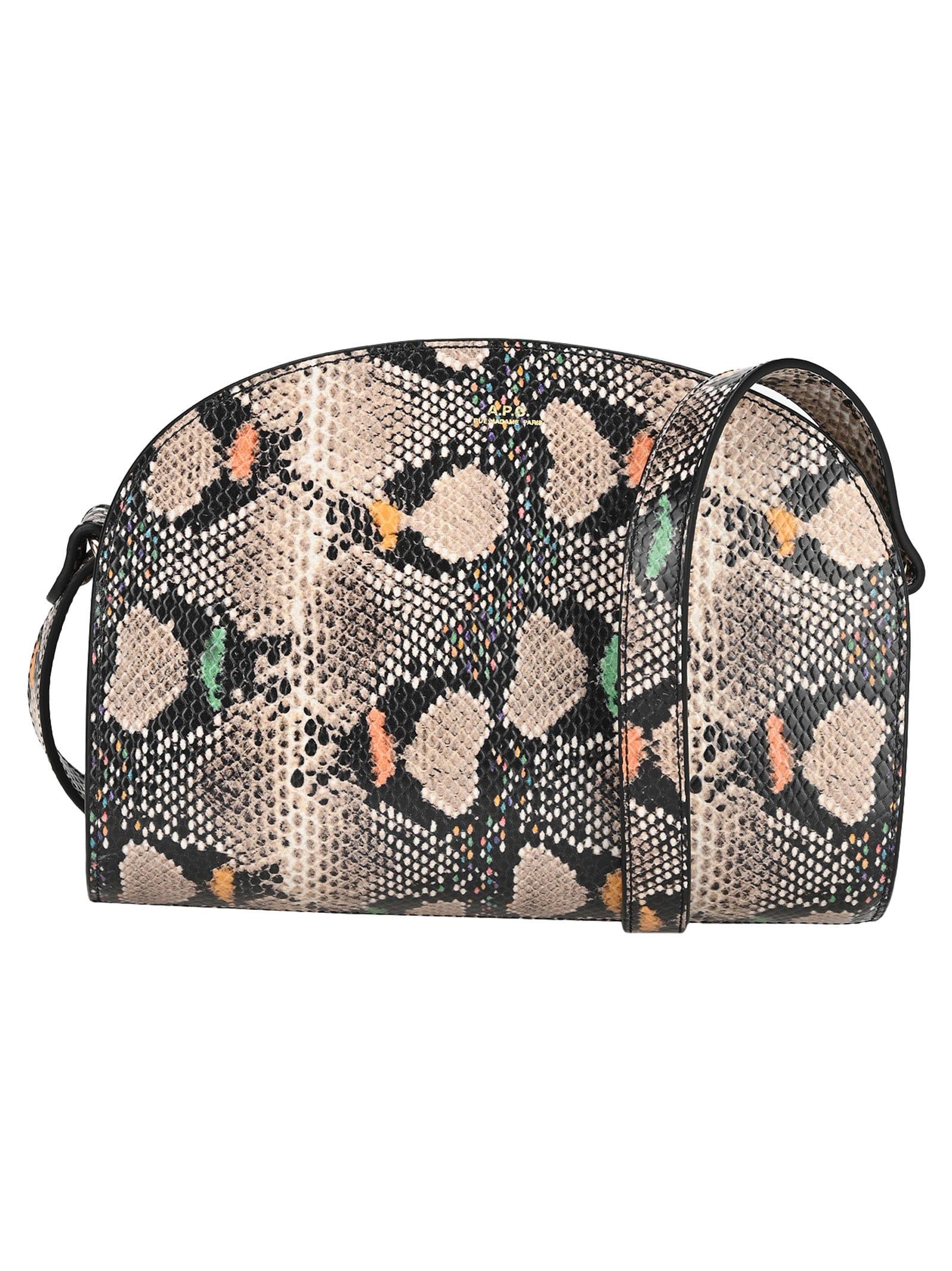 A.p.c. Sac Demi-lune Shoulder Bag