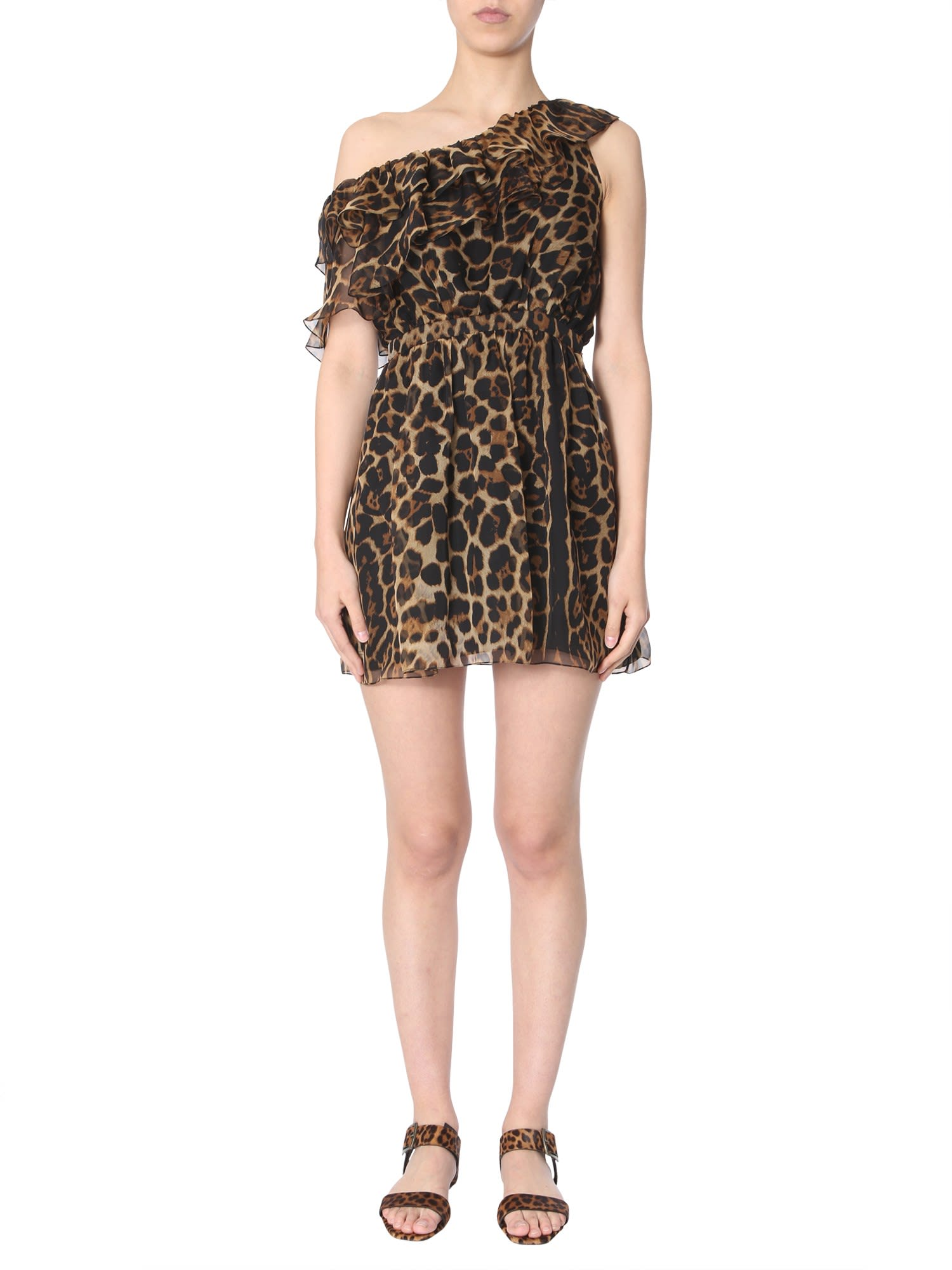 Saint Laurent Single Short Dress