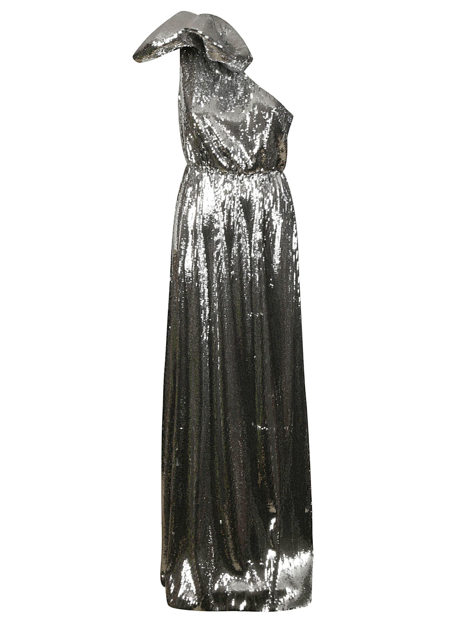 Buy N.21 Metallic One-shoulder Dress online, shop N.21 with free shipping