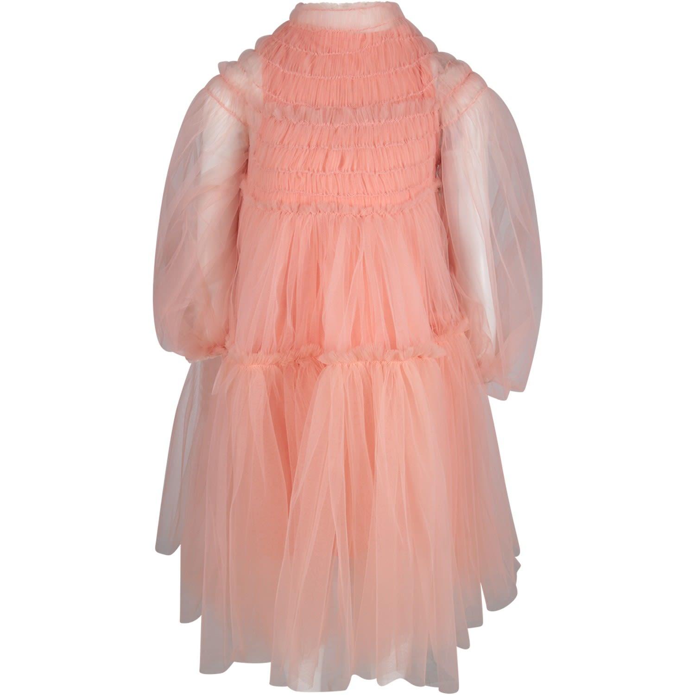 Nikolia Pink sunrays Girl Dress