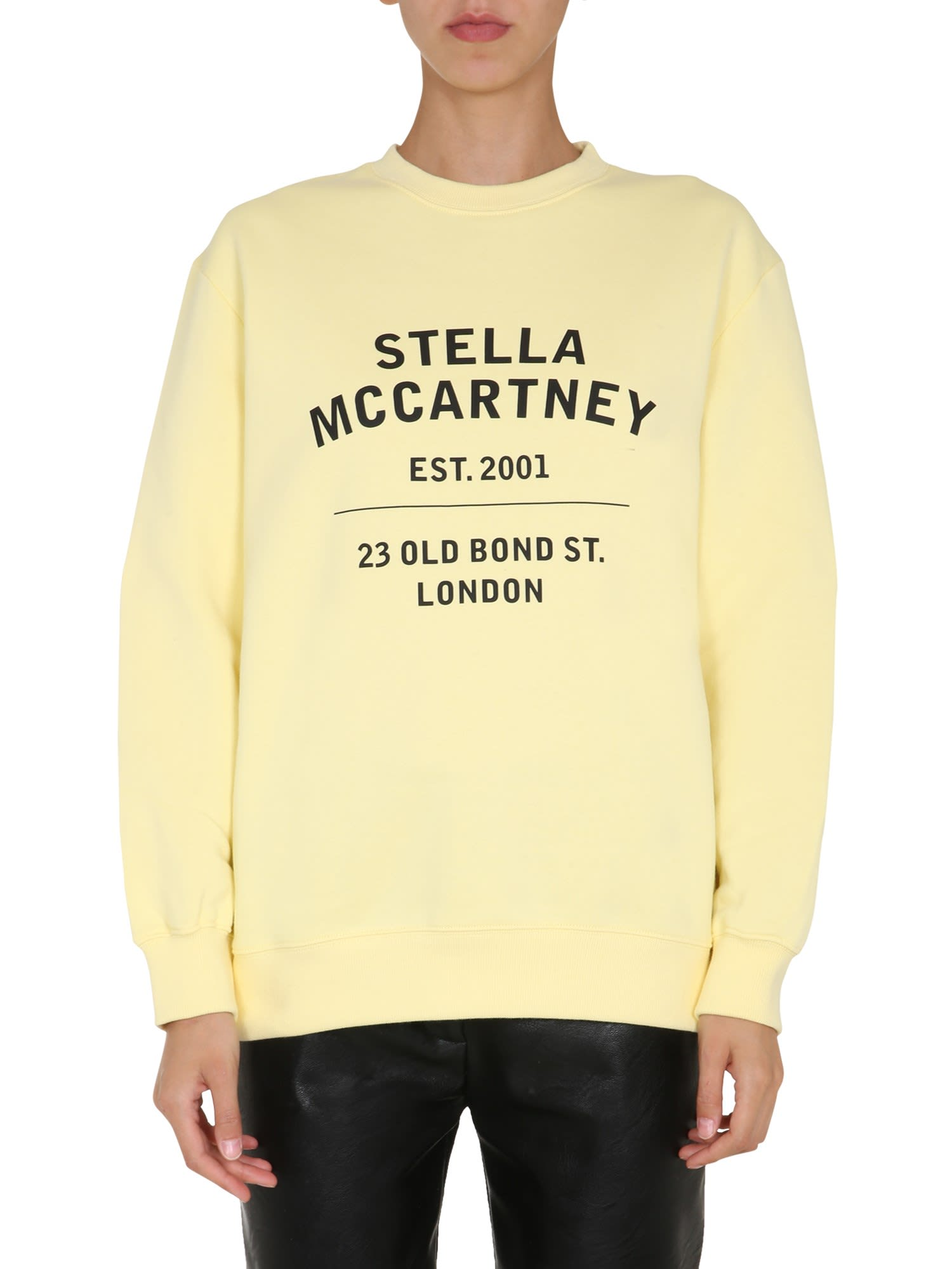 Stella Mccartney Cottons OVERSIZE FIT SWEATSHIRT