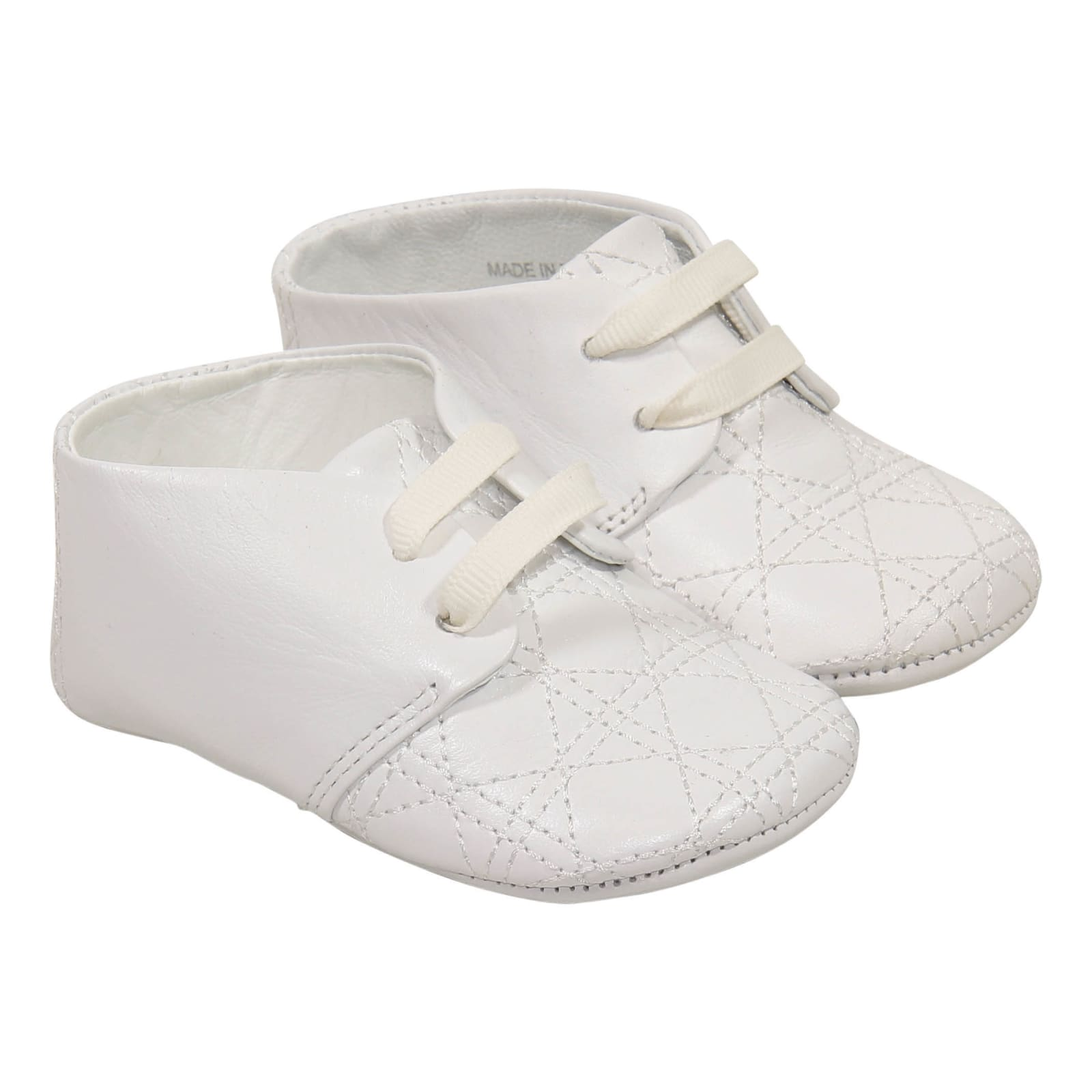 Baby Dior Baby Dior Shoes - Bianco