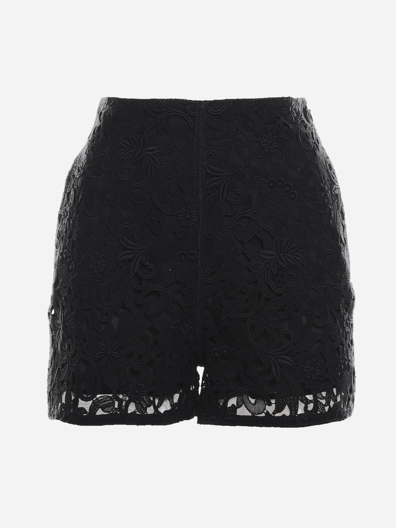 Valentino Clothing SHORTS MADE OF FLORAL LACE