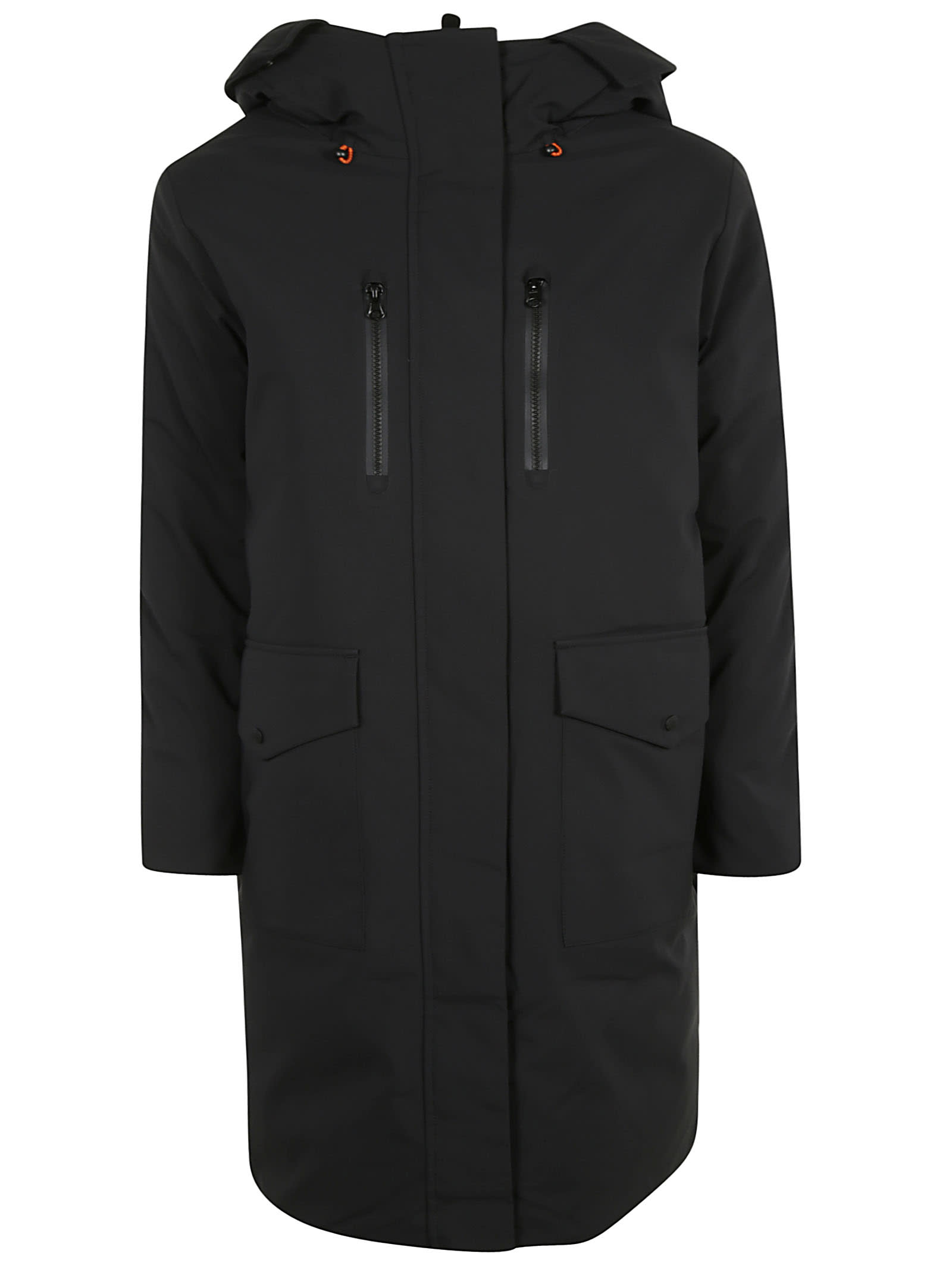 Save the Duck Long Zipped Concealed Fastening Parka