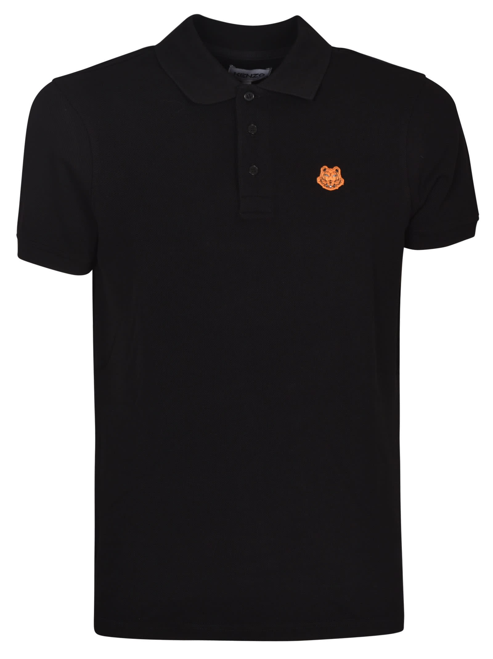 Kenzo Cottons TIGER CREST POLO SHIRT