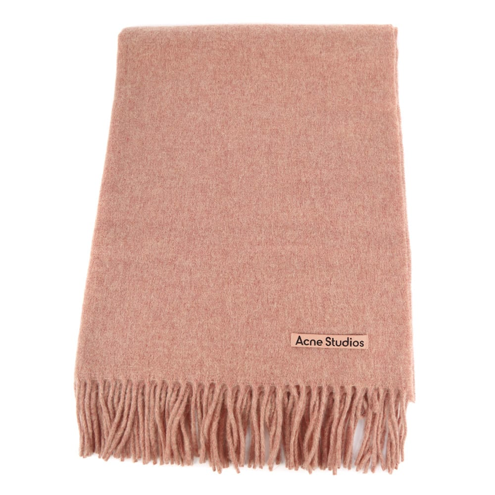 Acne Studios CANADA NEW WOOL SCARF WITH FRINGES
