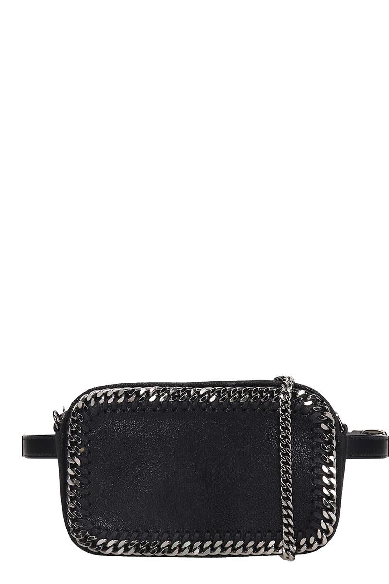 Stella Mccartney Bags FALABELLA WAIST BAG IN BLACK TECH/SYNTHETIC