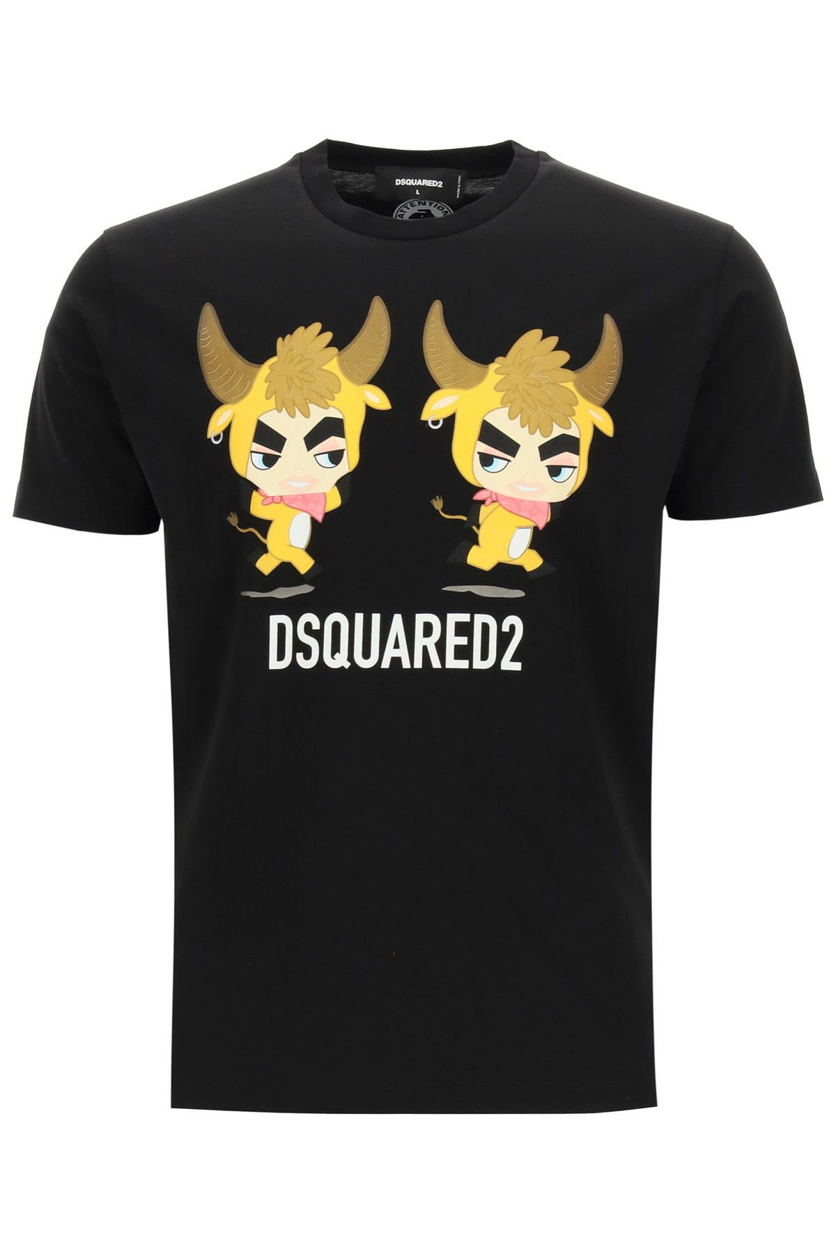 DSQUARED2 YEAR OF THE OX PRINT T-SHIRT