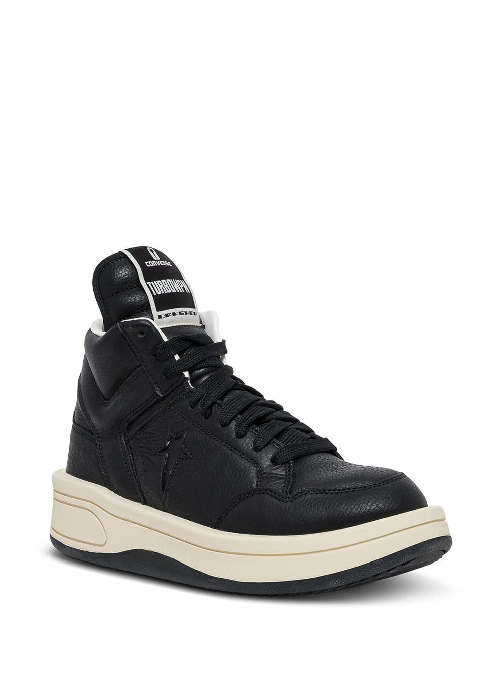 Turbowpn Sneakers In Black Leather