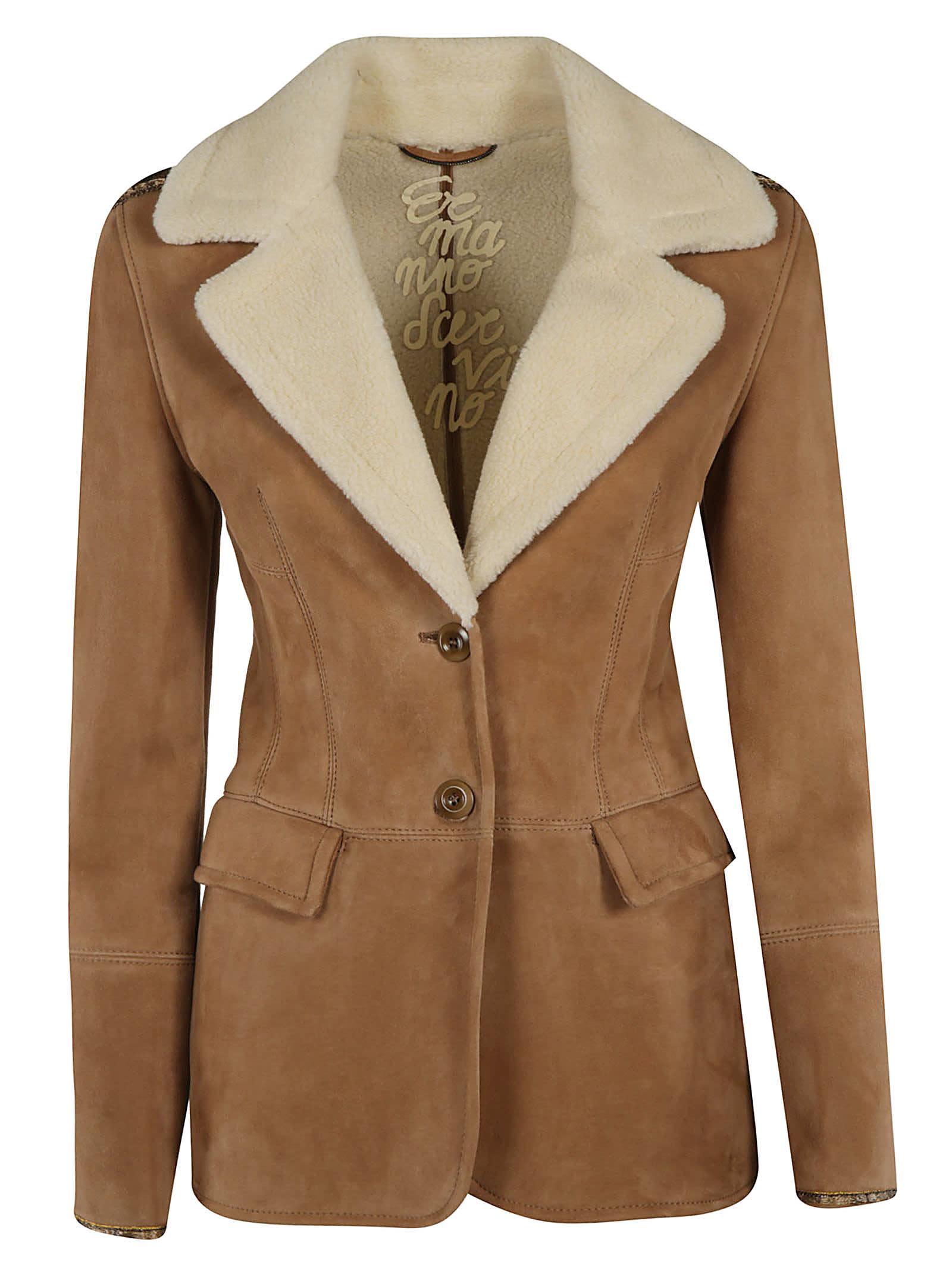 Ermanno Scervino Buttoned Jacket