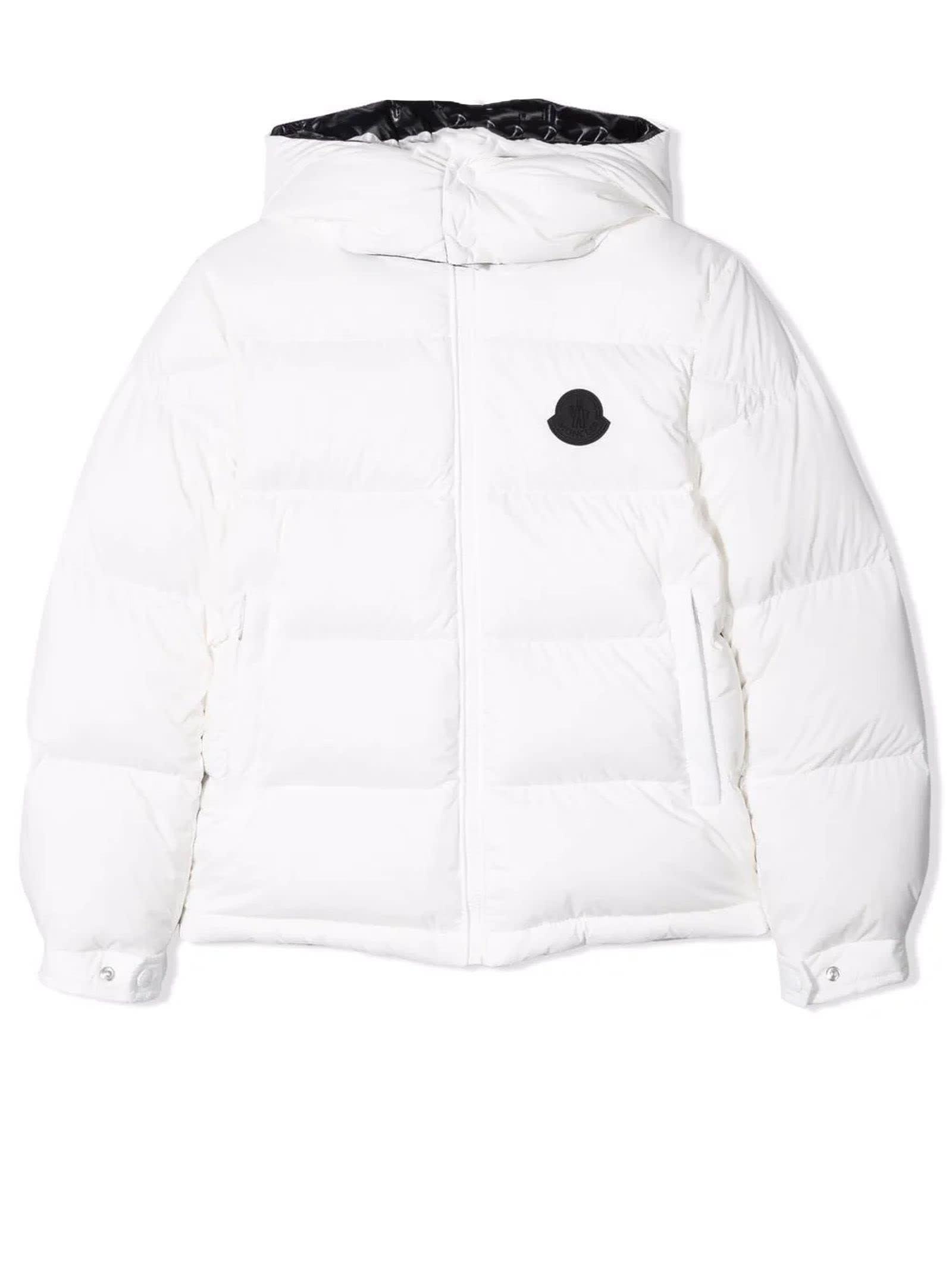 Moncler White Ercan Jacket