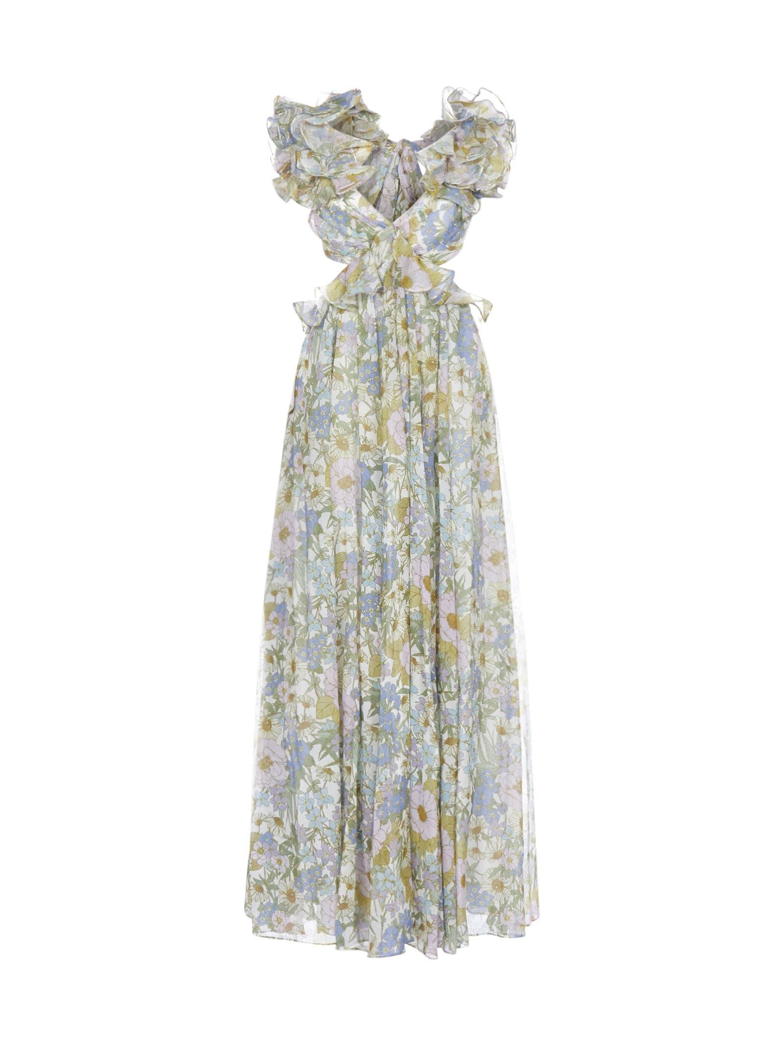 Buy Zimmermann Super Eight Dress online, shop Zimmermann with free shipping