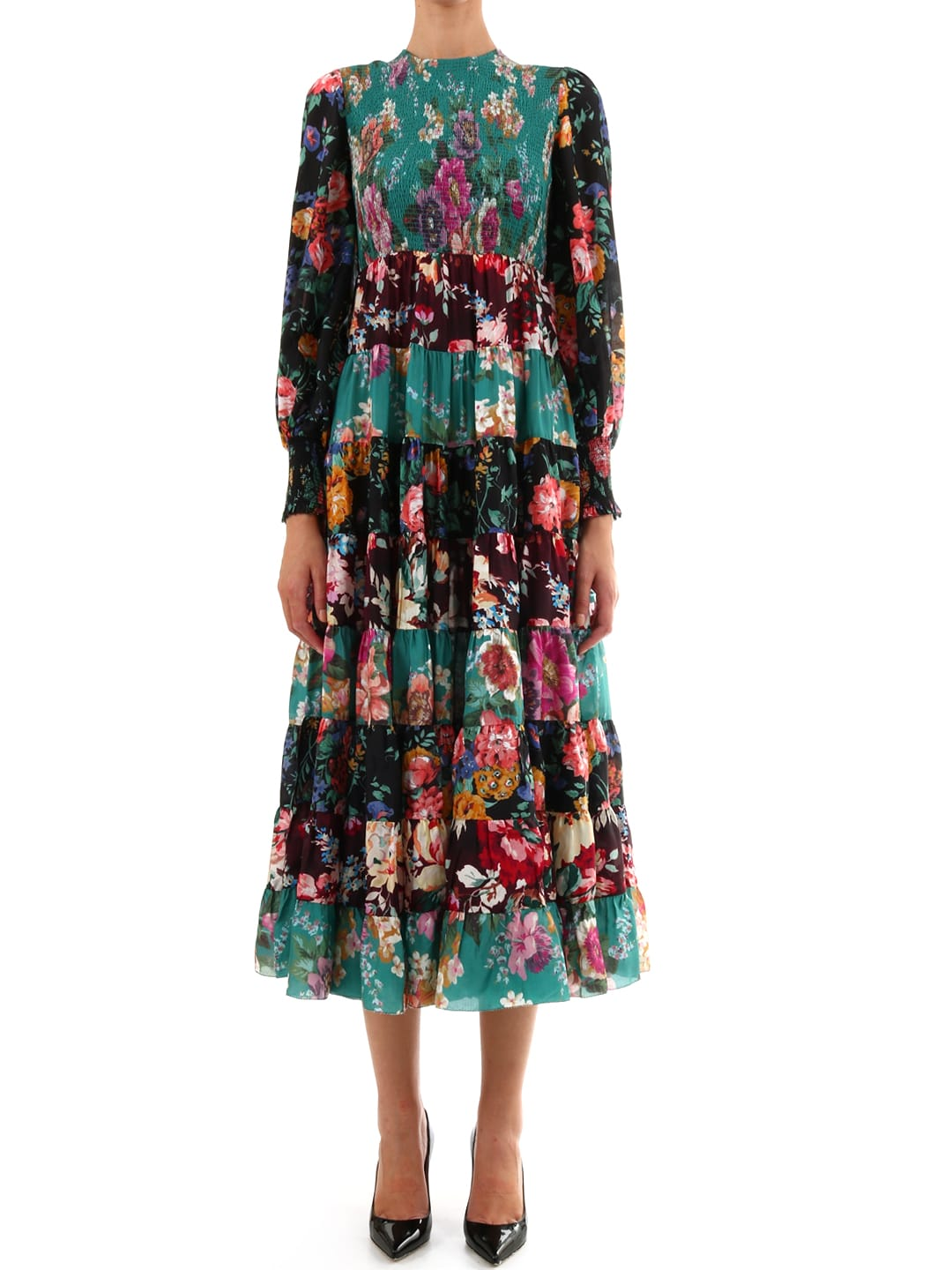 Zimmermann Allia Dress Floral Print