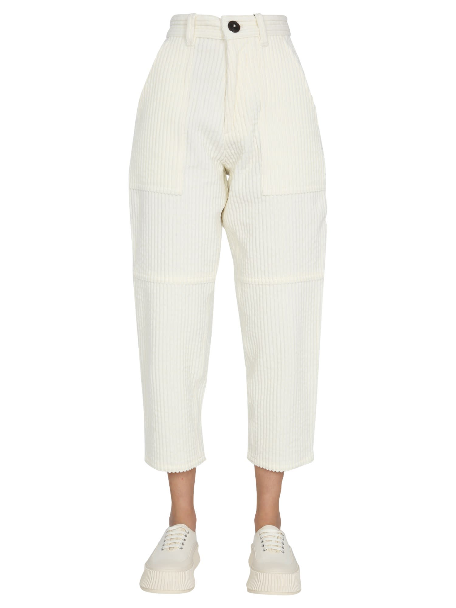 Ami Alexandre Mattiussi WORKED FIT TROUSERS