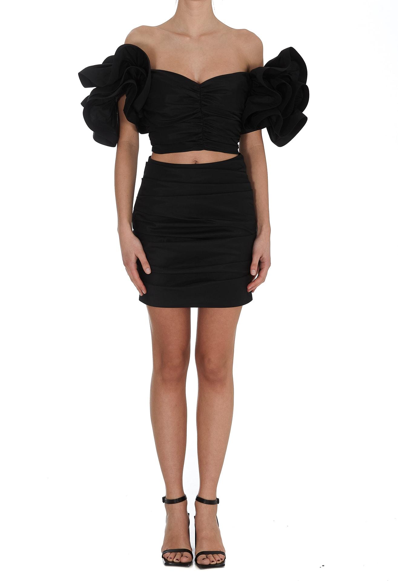 Buy Elisabetta Franchi Two Pieces Dress online, shop Elisabetta Franchi with free shipping