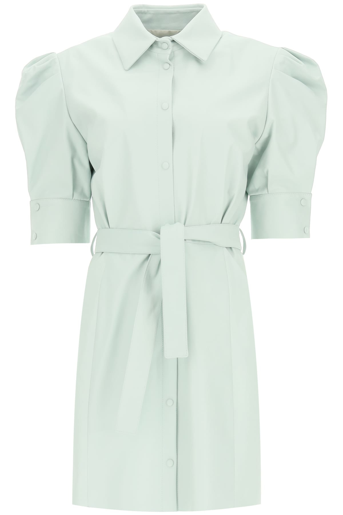 Drome LEATHER DRESS WITH BELT