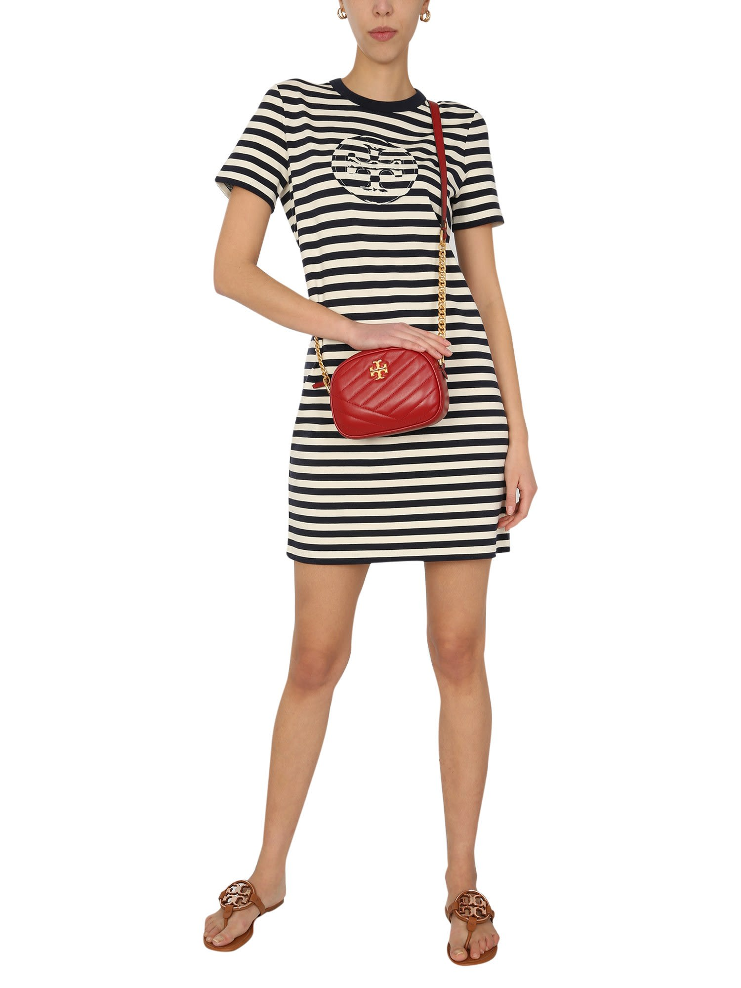 Buy Tory Burch Dress With Logo online, shop Tory Burch with free shipping