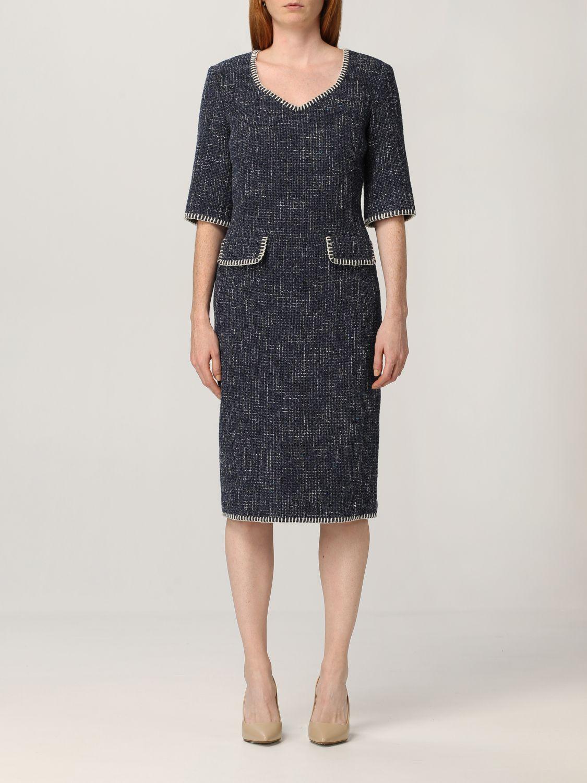 Boutique Moschino Dress Moschino Boutique Tweed Dress