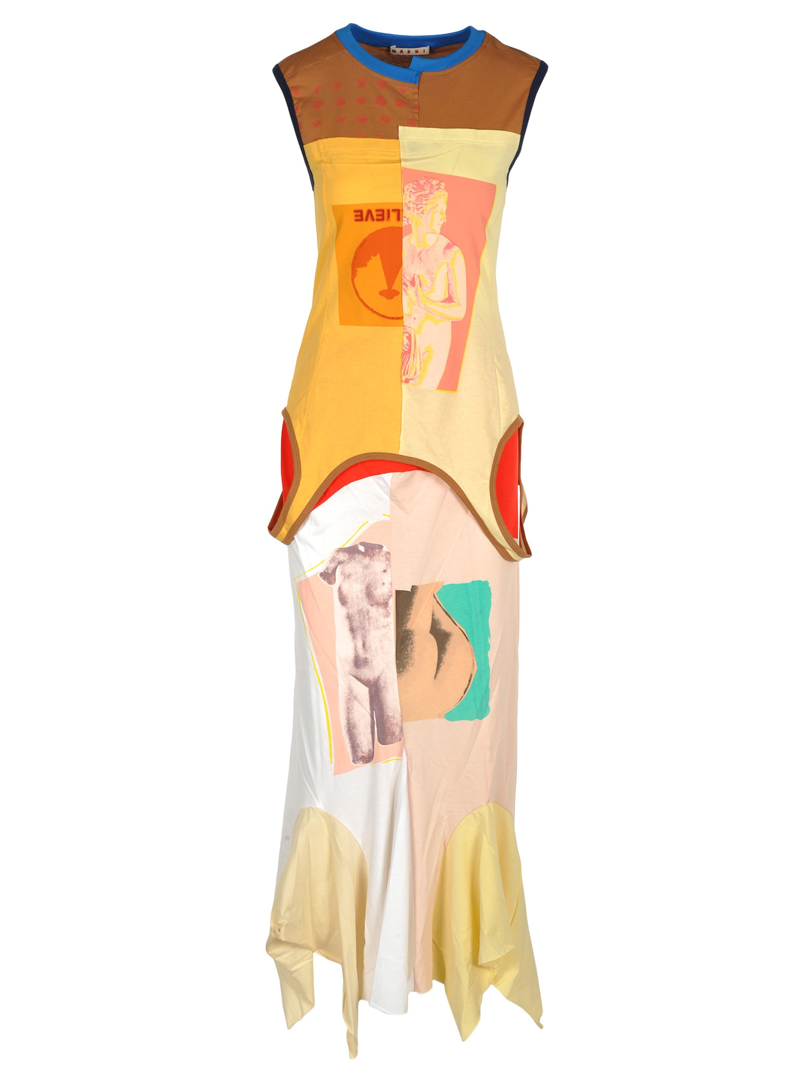 Marni Marni Multicolour Long Dress