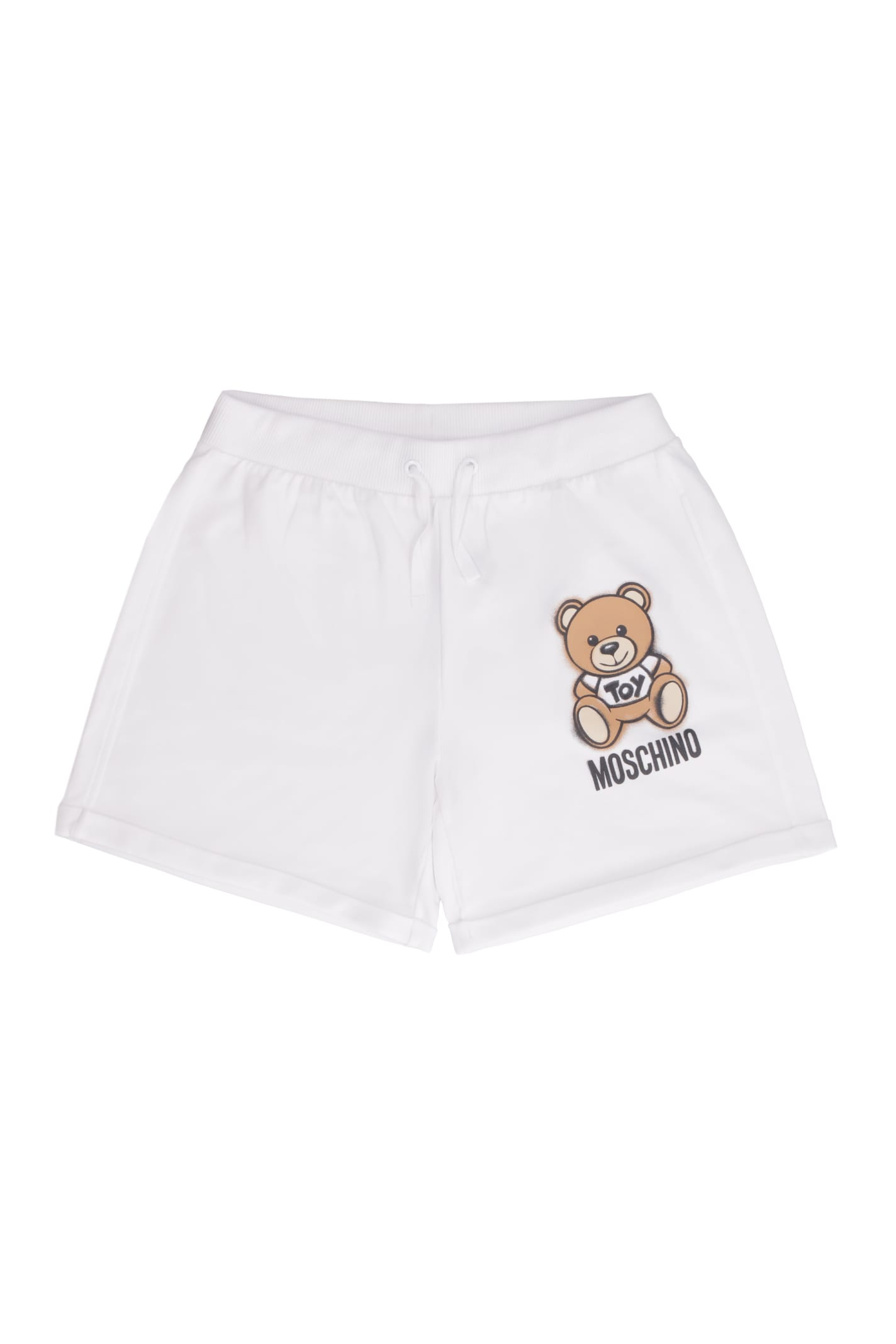 Moschino Shorts PRINTED SWEATSHORTS
