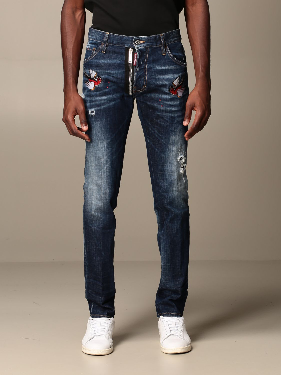 Dsquared2 Jeans Dsquared2 Cool Guy icon Jeans In Used Denim