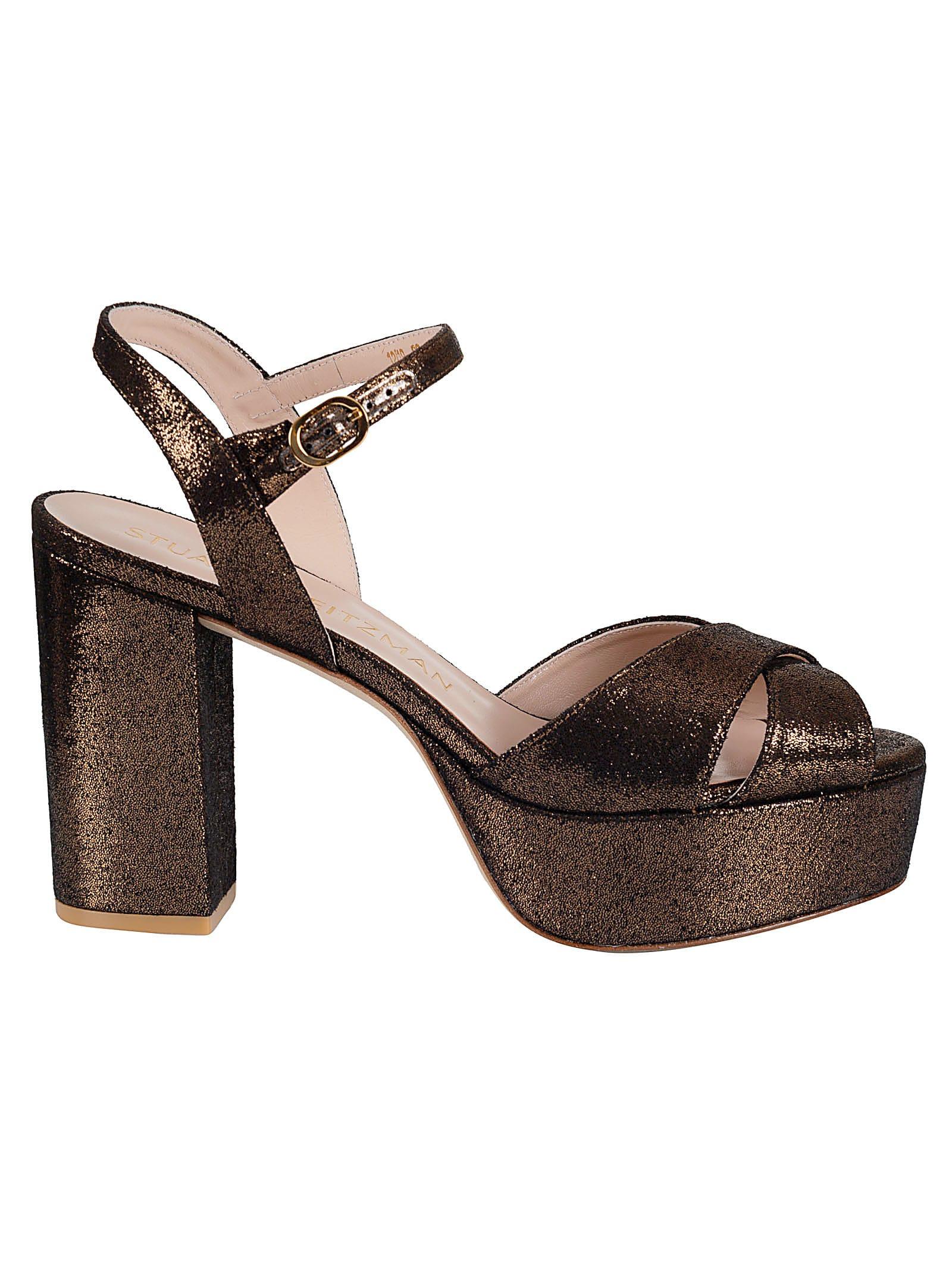Buy Stuart Weitzman Ivona Sandals online, shop Stuart Weitzman shoes with free shipping