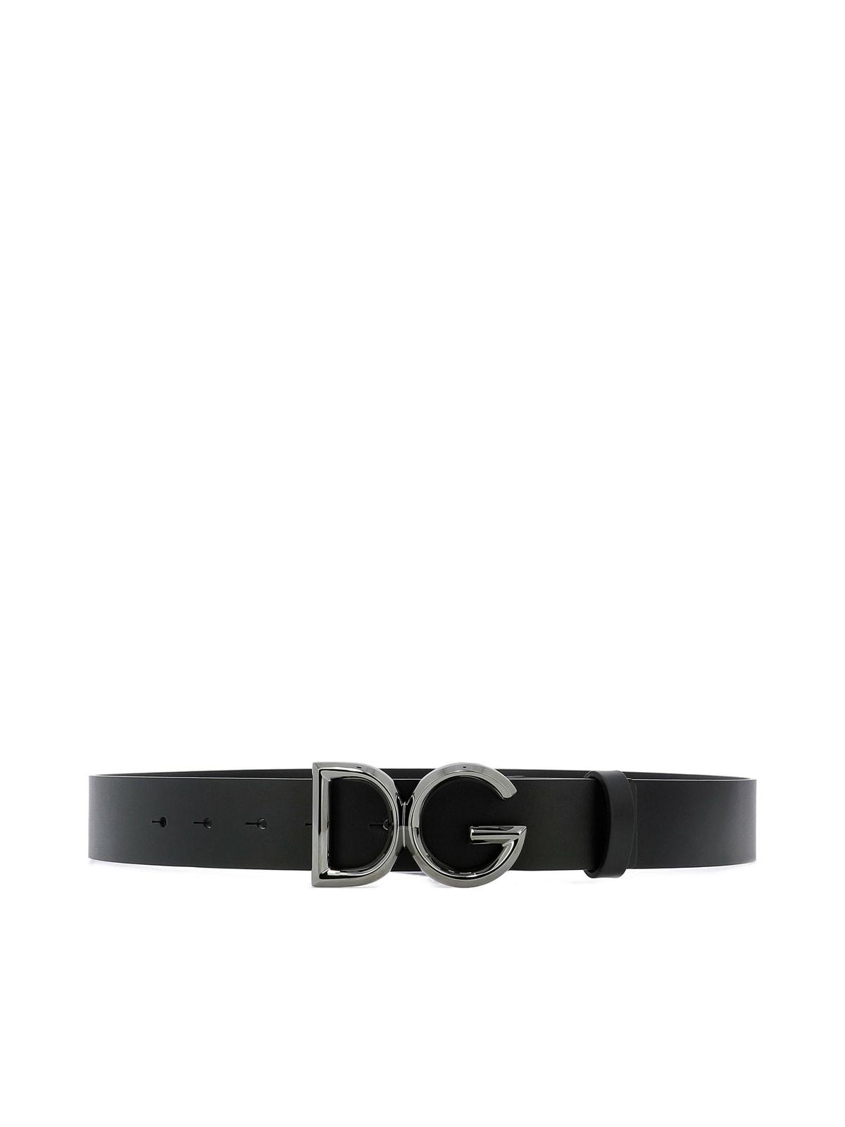 Dolce & Gabbana Belts VINTAGE CUIR LUX BELT