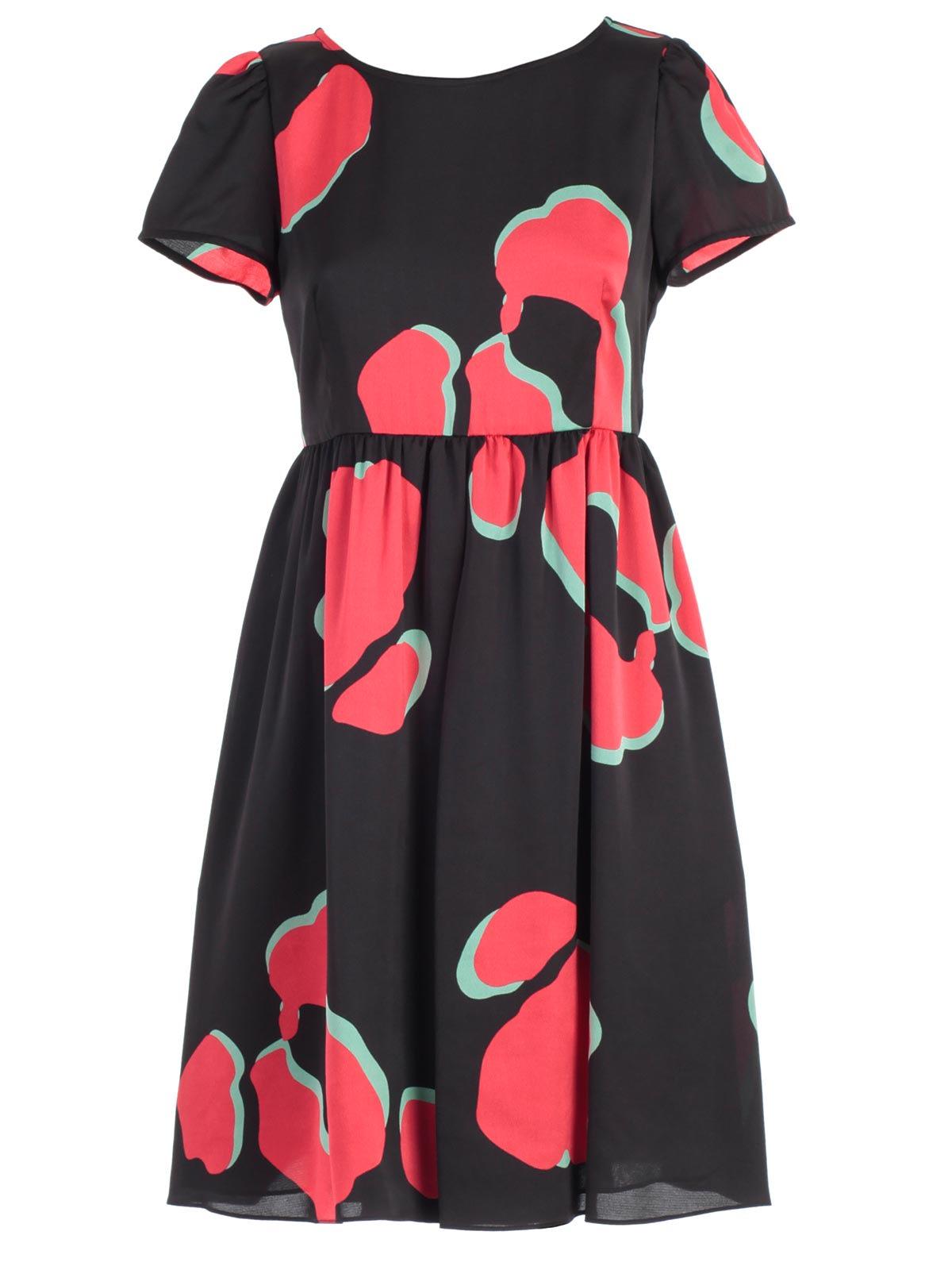 Emporio Armani Dress S & s Animalier Print