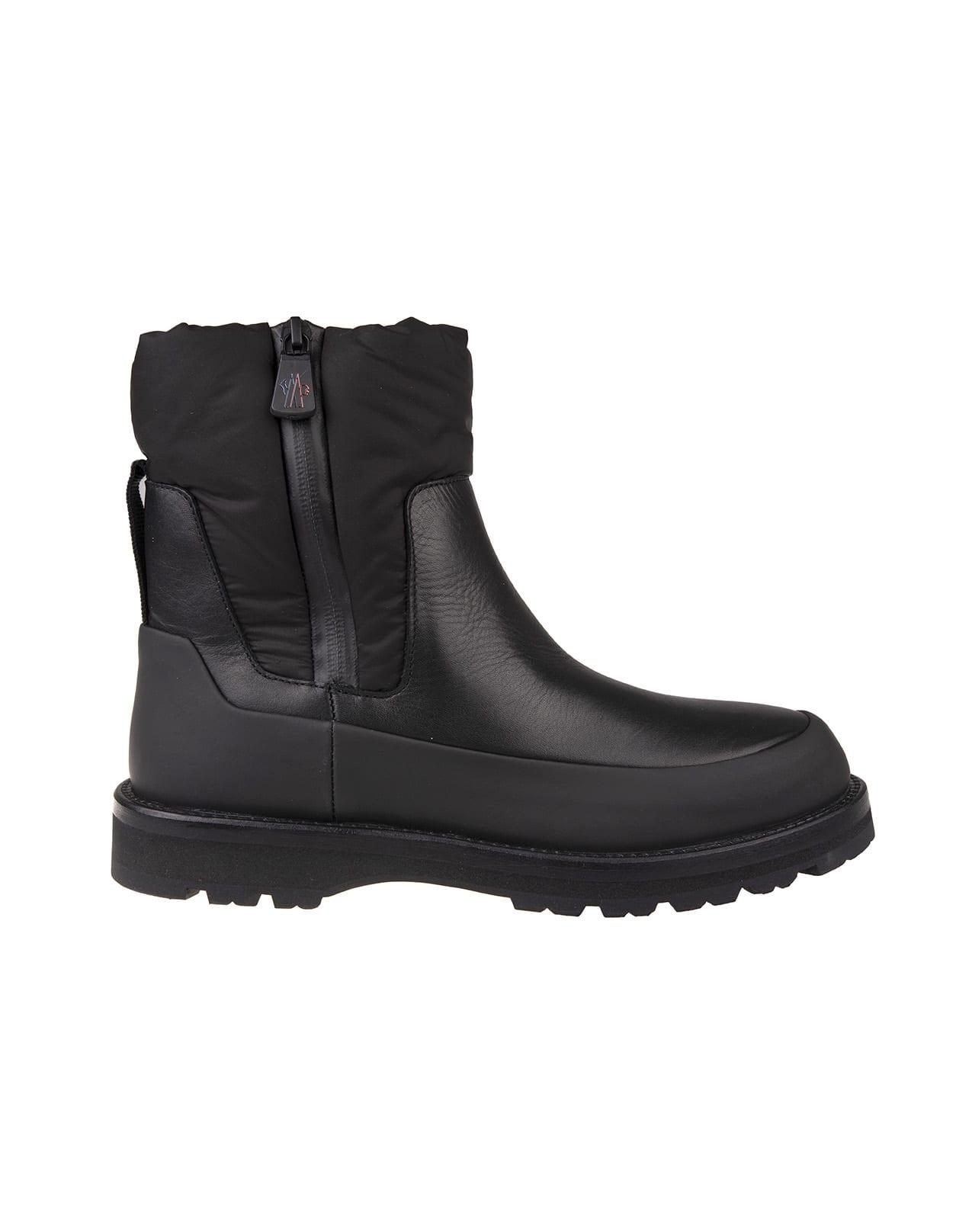 Black Rain Dont Care Woman Ankle Boot