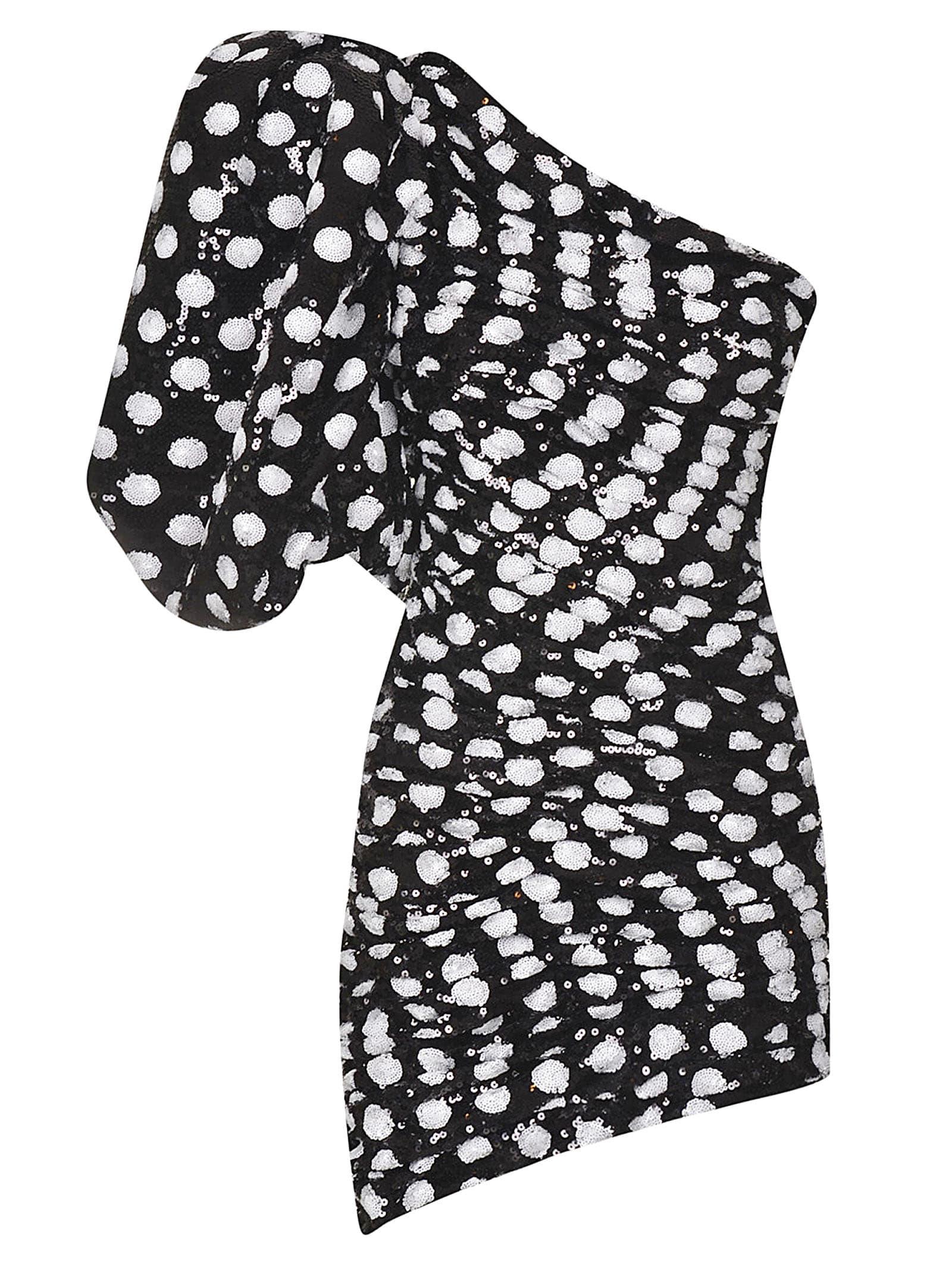Buy Giuseppe di Morabito One-shoulder Polka-dot Dress online, shop Giuseppe di Morabito with free shipping