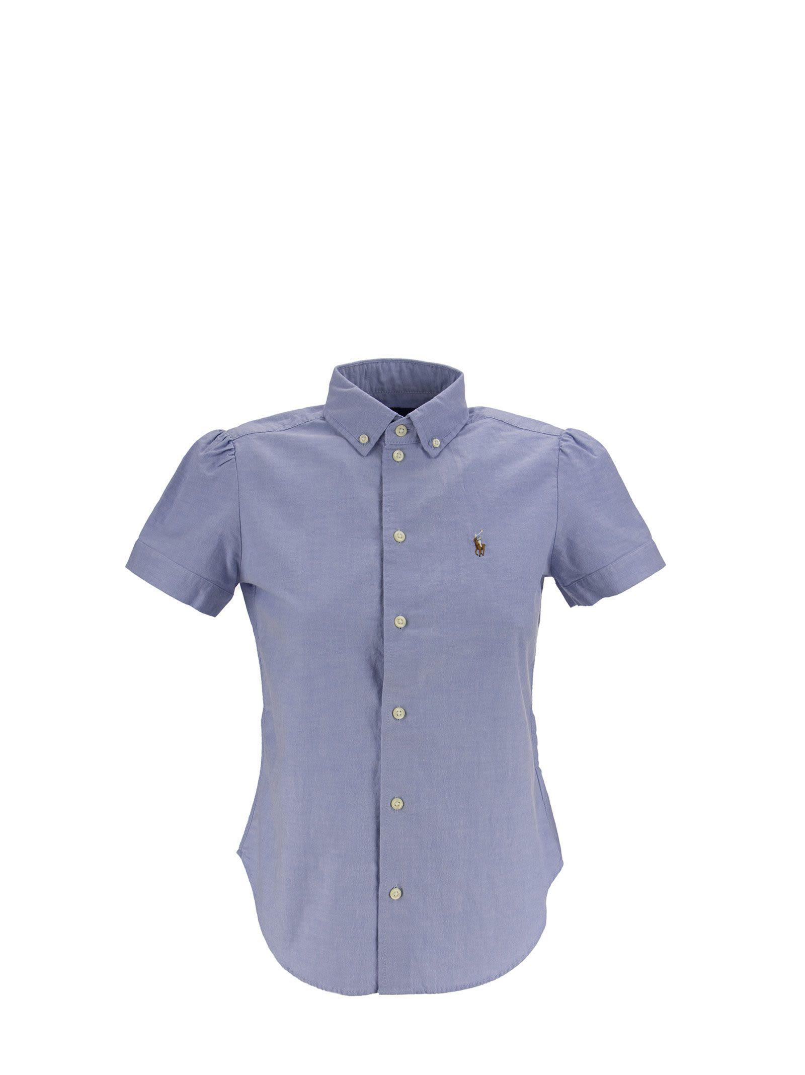 Ralph Lauren Short-sleeve Oxford Shirt