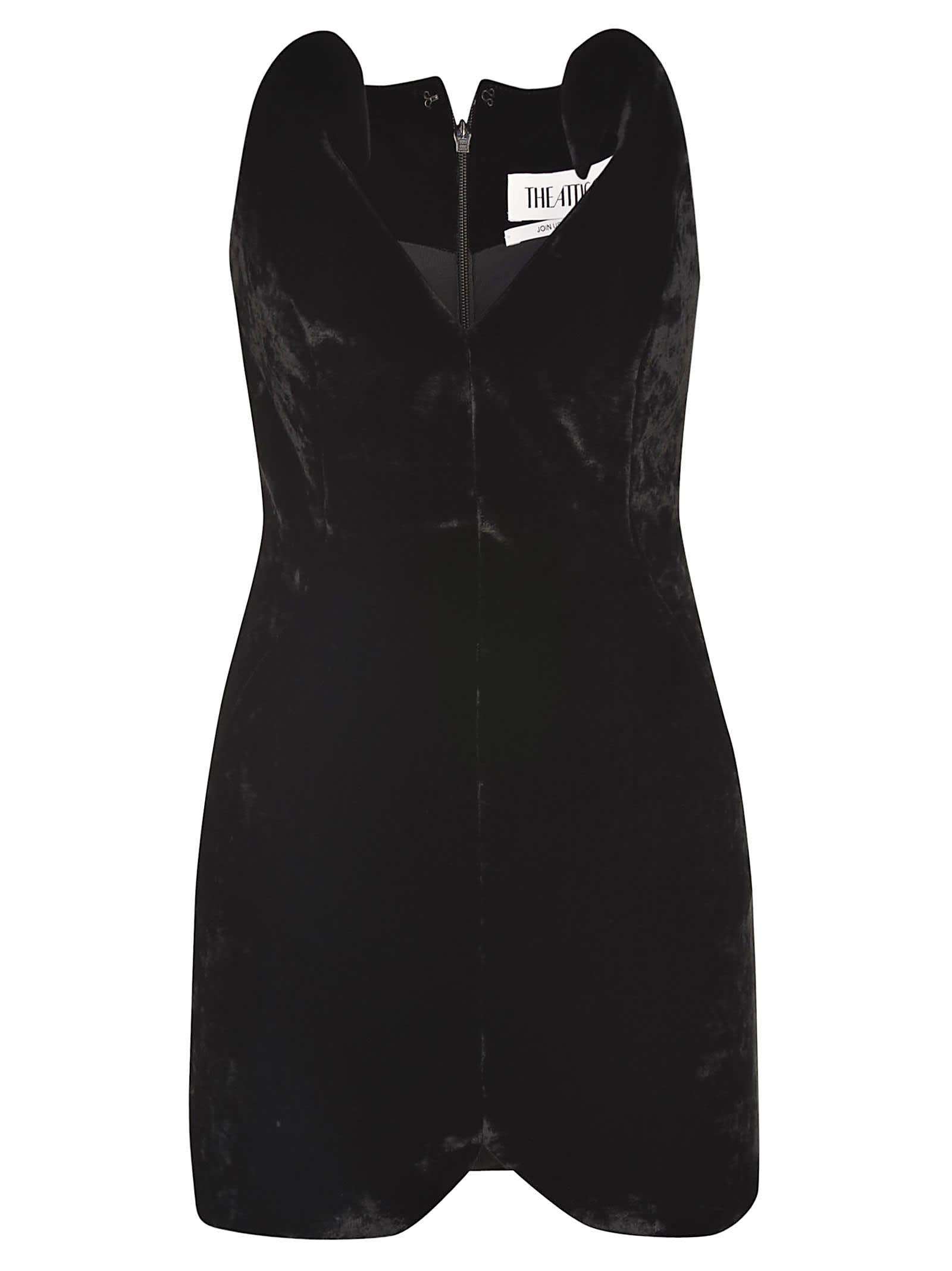 The Attico Mini Zipped Dress