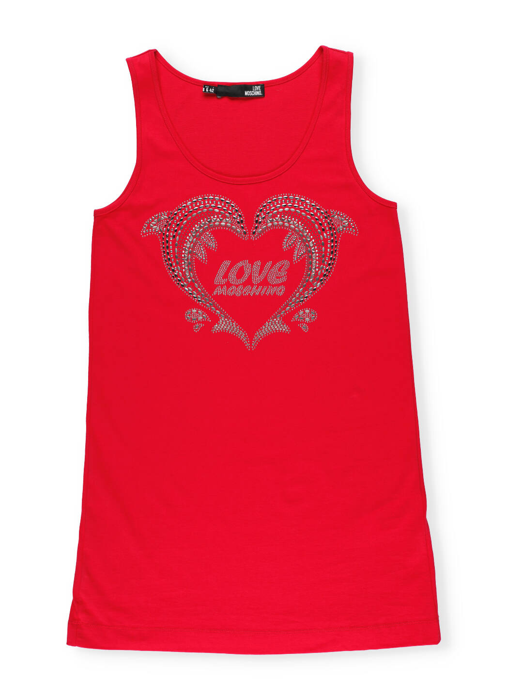 Love Moschino Sleeveless Dress With Logo