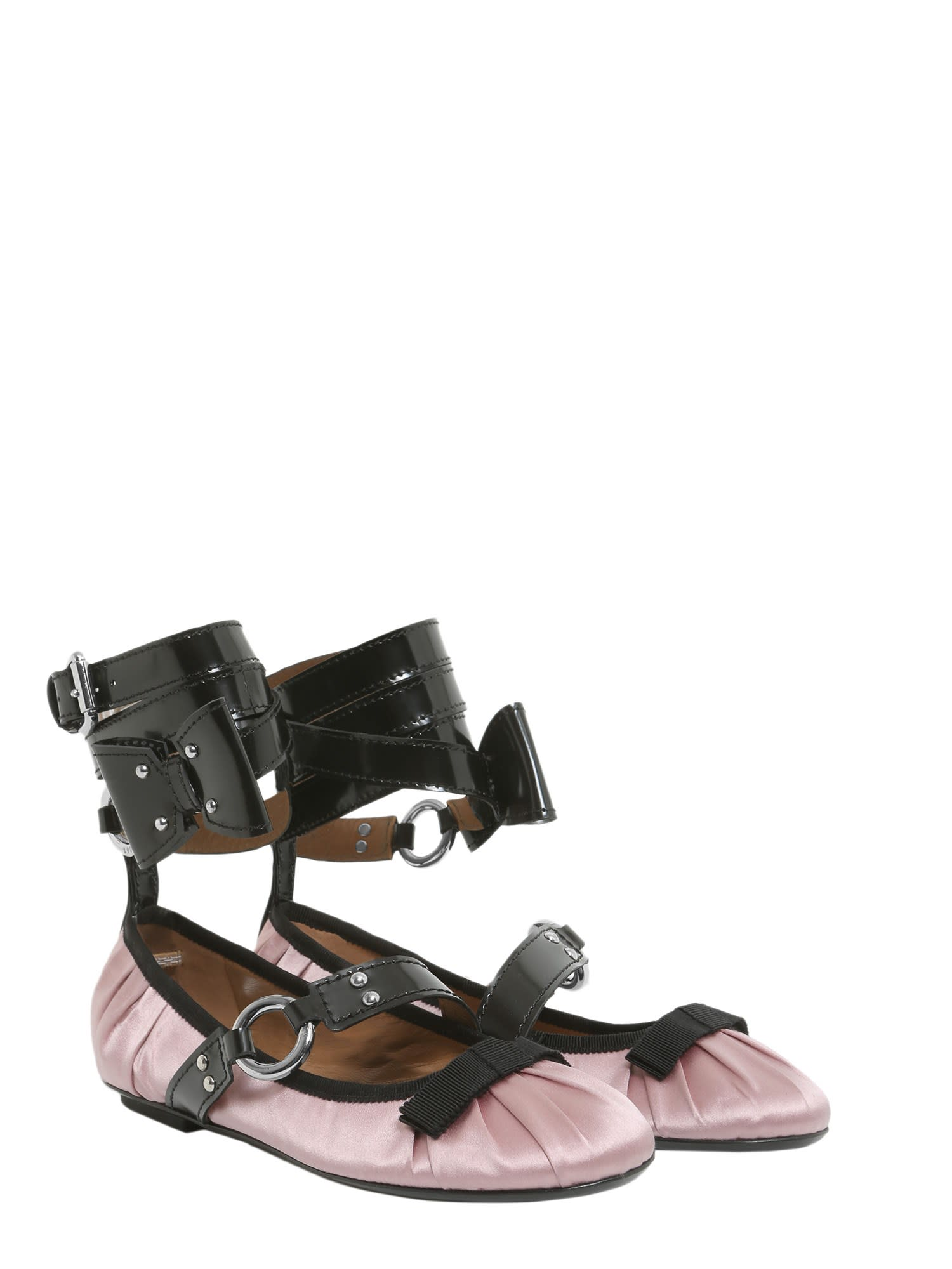 uk availability a6c07 b6d53 Moschino Moschino Ballerina With Painted Lace - ROSA ...