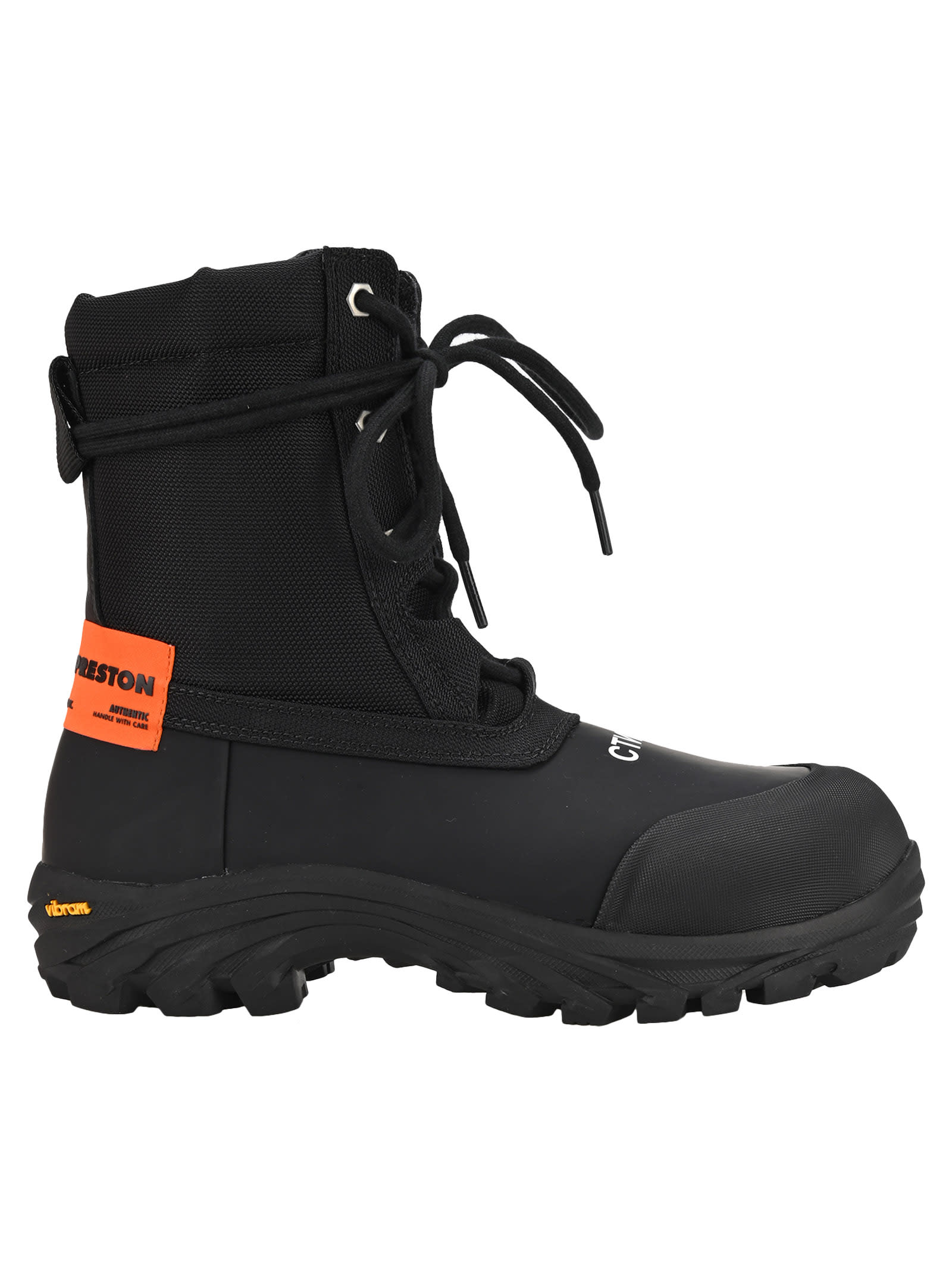 Heron Preston SECURITY ANKLE BOOTS