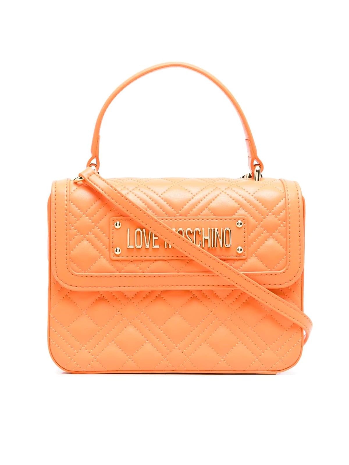 Love Moschino Handbags EVENING BAGS QUILTED TOP HANDLE BAG