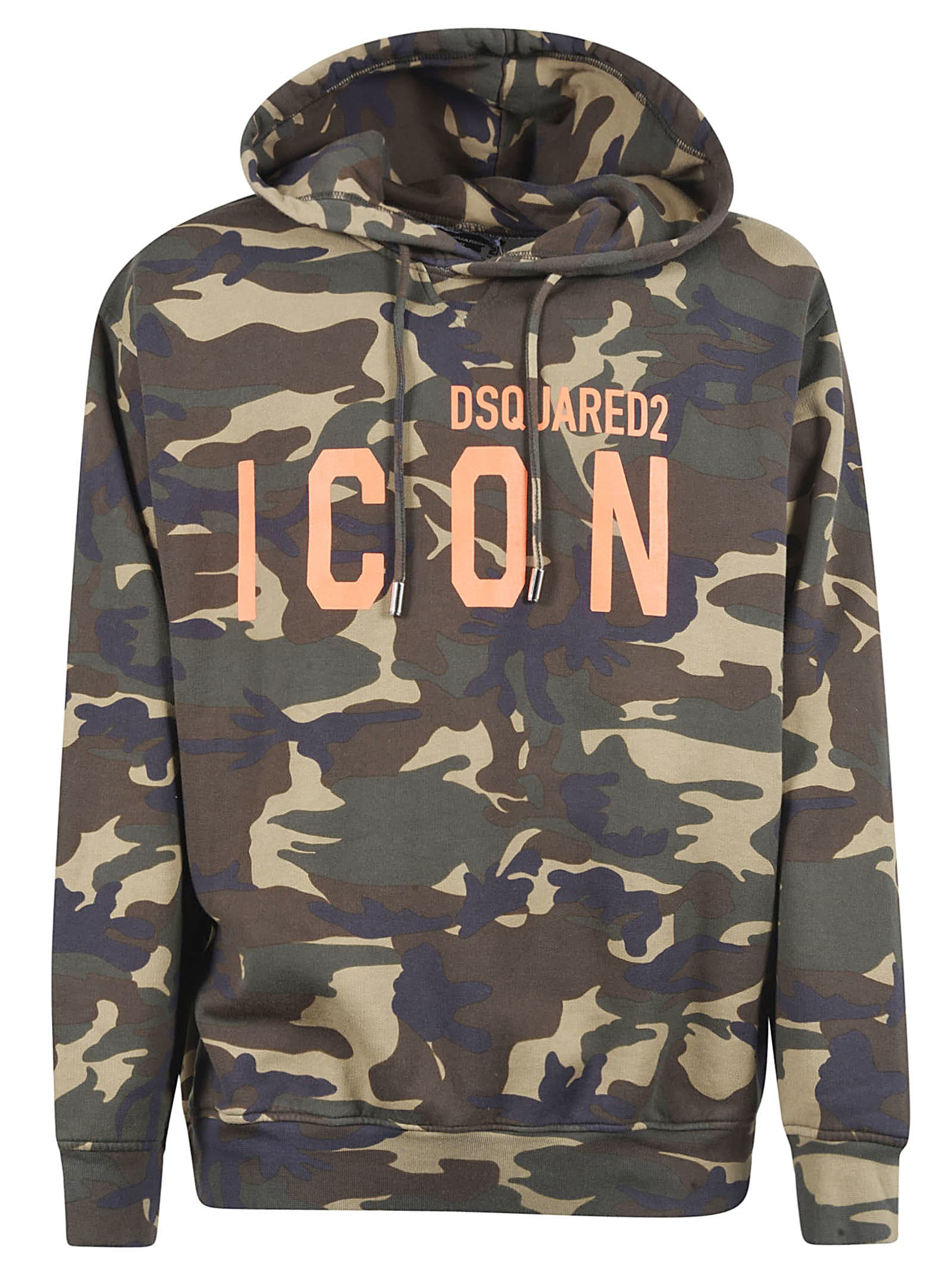 Dsquared2 Icon Camouflage Hoodie