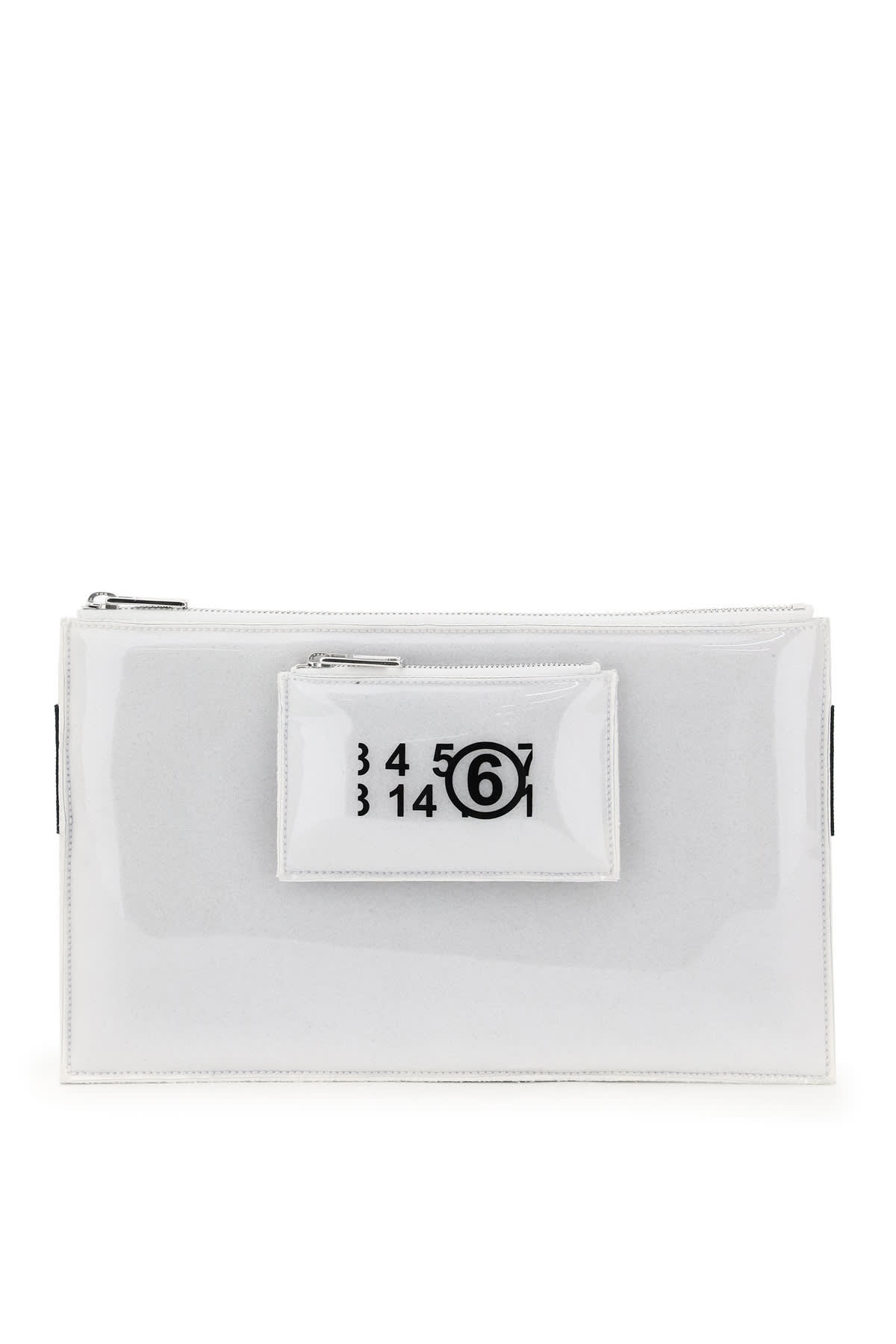 Mm6 Maison Margiela PVC FOAM CLUTCH