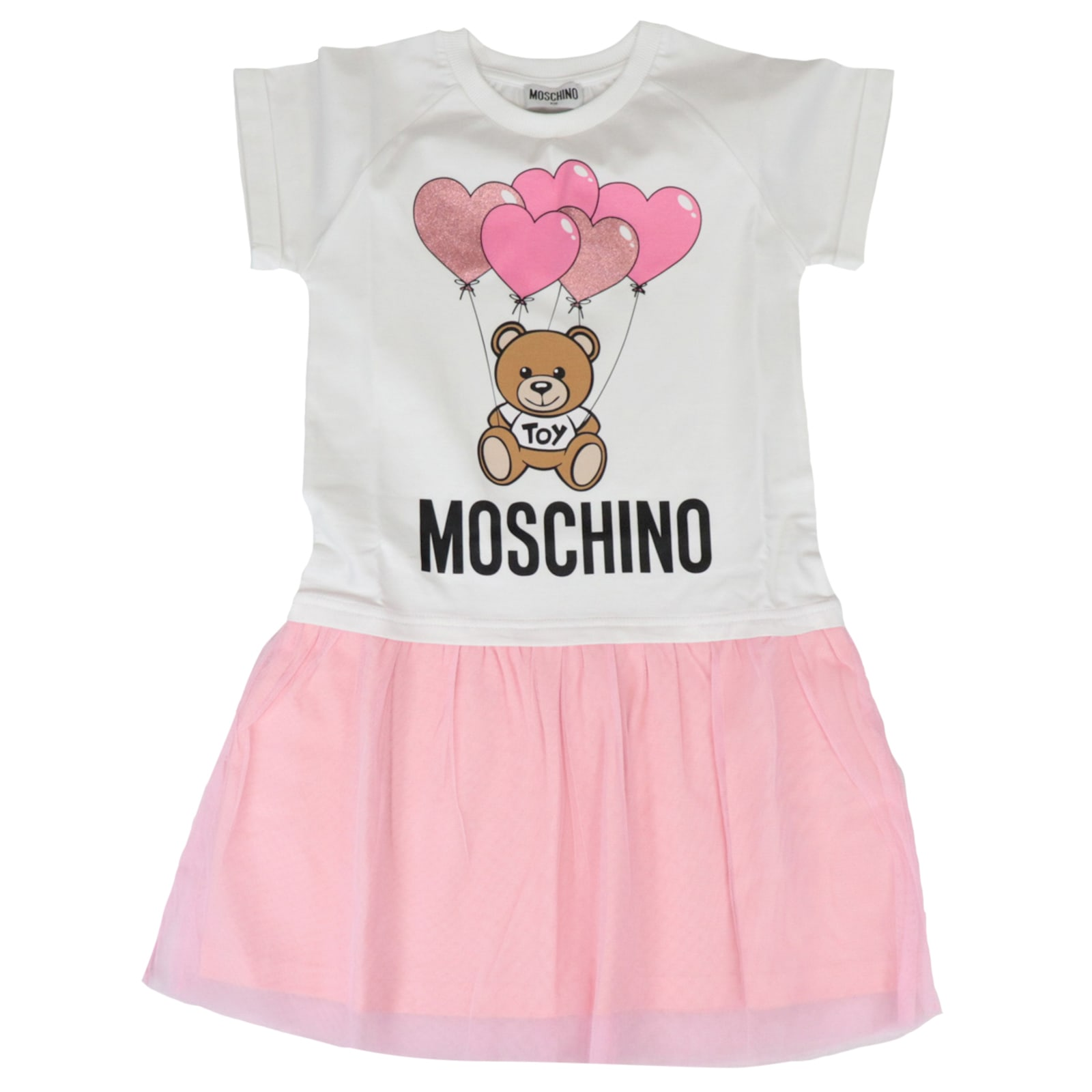Buy Moschino Balloon Bear Dress online, shop Moschino with free shipping