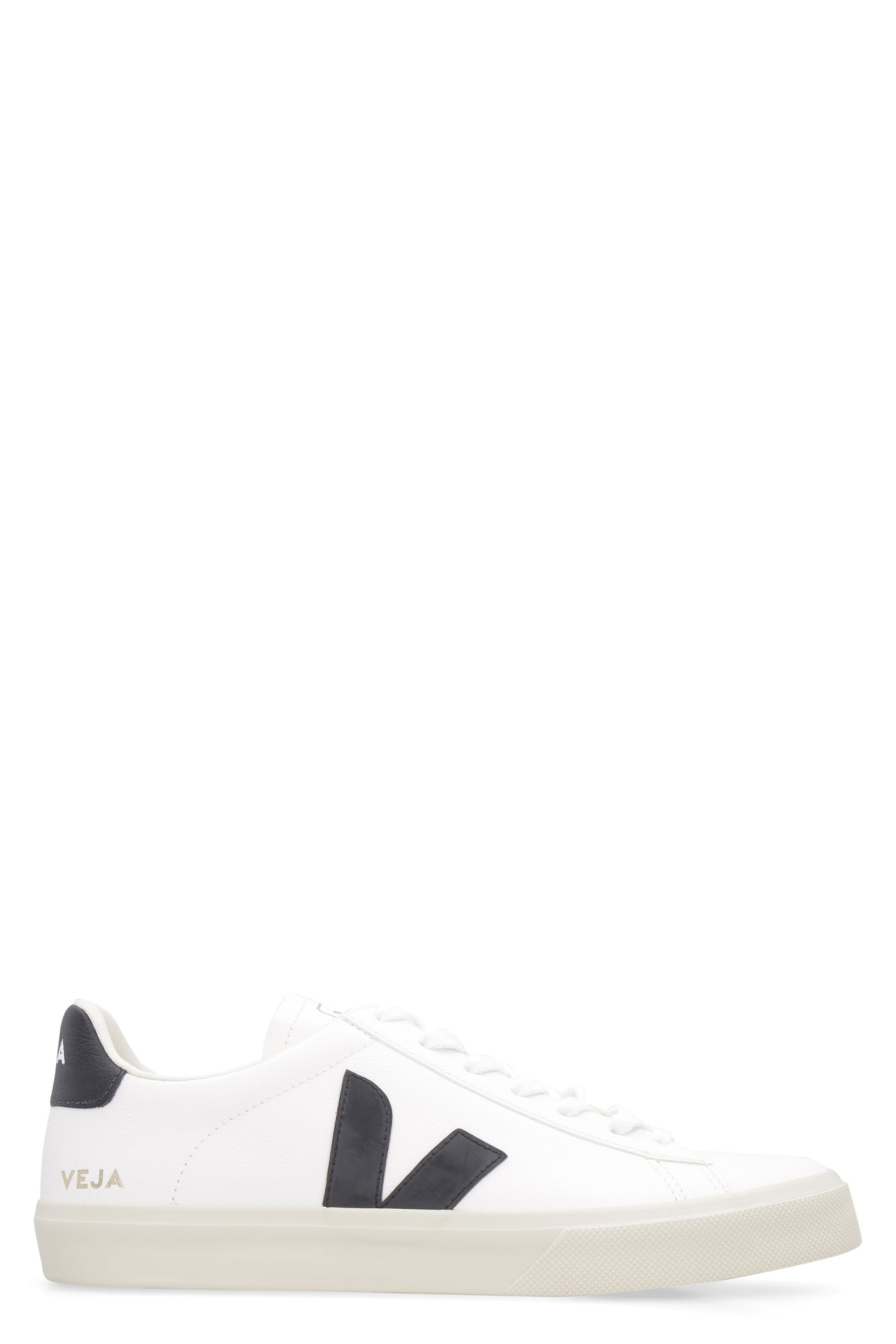 Veja Leathers CAMPO CHROMEFREE LOW-TOP SNEAKERS