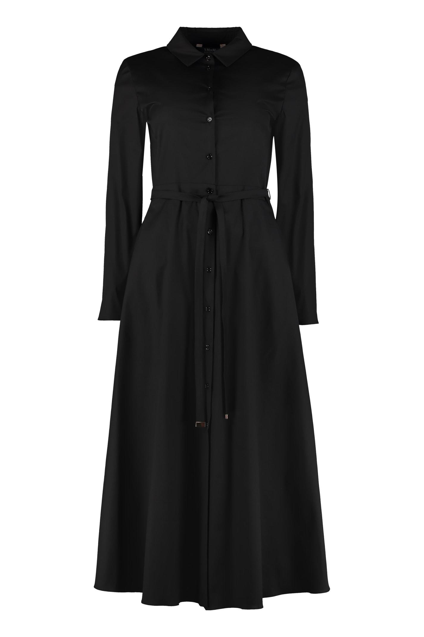 Buy S Max Mara Vernice Cotton Shirtdress online, shop S Max Mara with free shipping